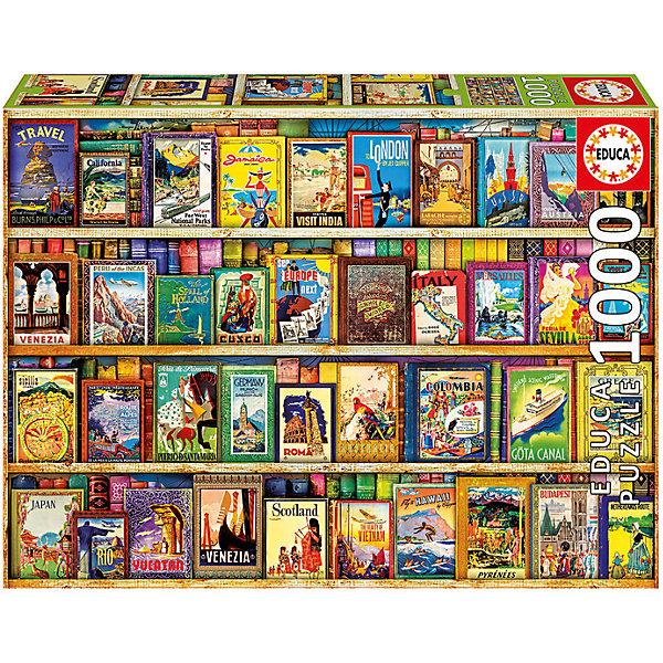 Пазл Цвета Африки, 1000 деталей, EducaПазлы классические<br>Характеристики товара:<br><br>• возраст: от 6 лет;<br>• количество деталей: 1000;<br>• размер собранной картины: 68х48 см.;<br>• наличие клея: в комплекте;<br>• материал: картон;<br>• упаковка: картонная каробка;<br>• вес: 760 гр.;<br>• бренд, страна бренда: Educa (Эдука), Испания;<br>• страна-производитель: Испания.<br>                                                                                                                                                                                                                                                                                                                       <br>Пазл «Цвета Африки», состоящий из 1000 элементов, придется по душе всей вашей семье, ведь собрав этот пазл, вы получите великолепную картину, которая отлично впишется в интерьер любого помещения.<br><br>Пазл выполнен из высококачественных материалов, что обеспечивает идеальное прилегание элементов друг к другу. В комплекте специальный сухой клей, чтобы после сборки склеить части мозайки и сохранить прочность собранной картины на долгое время.<br><br>Собирание пазлов это не только интересно, но и полезно: ведь в процессе создания картинки развивается мелкая моторика, тренируются наблюдательность и логическое мышление.<br><br>Испанская компания Educa Borras, SA выпускает пазлы различной сложности и имеет уникальный сервис: бесплатную доставку в любую точку мира потерянной детали.<br><br>Пазл «Цвета Африки», 1000 деталей,  Educa (Эдука) можно купить в нашем интернет-магазине.<br><br>Ширина мм: 317<br>Глубина мм: 270<br>Высота мм: 55<br>Вес г: 768<br>Возраст от месяцев: 36<br>Возраст до месяцев: 2147483647<br>Пол: Унисекс<br>Возраст: Детский<br>SKU: 5514315