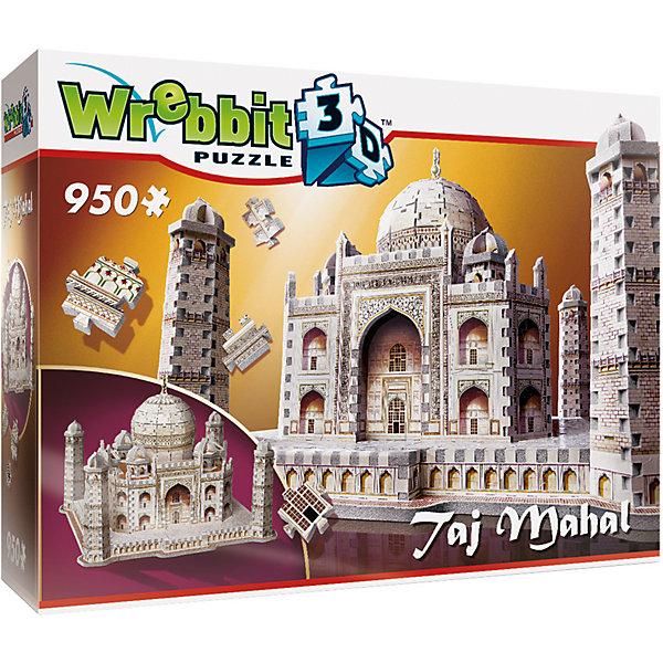 Пазл 3D Тадж Махал, 950 деталей, Educa3D пазлы<br>Характеристики товара:<br><br>• возраст: от 10 лет;<br>• количество деталей: 950;<br>• размер собранной картины: 30х11х40,5 см.;<br>• наличие клея: нет в комплекте;<br>• материал: картон;<br>• упаковка: картонная каробка;<br>• вес: 730 гр.;<br>• бренд, страна бренда: Wrebbit, Канада;<br>• страна-производитель: Канада.<br>                                                                                                                                                                                                                                                                                                                       <br>Скульптурный 3D-пазл «Тадж махал», состоящий из 950 элементов, придется по душе всем, кто увлечен созданием объемных моделей уникальных строений. Детали набора отлично проработаны, прочно соединяются друг с другом, отличаются непревзойденным дизайном и рисунком.<br><br>Мельчайшая детализация и реалистичность исполнения доставят удовольствие как во время сборки, так и при взгляде на готовый результат. Собранный макет можно поставить на видное место, он станет замечательным дополнением для любого интерьера. <br><br>Испанская компания Educa Borras, SA выпускает пазлы различной сложности и имеет уникальный сервис: бесплатную доставку в любую точку мира потерянной детали.<br><br>Скульптурный 3D-пазл «Тадж Махал», 950 деталей,  Wrebbit можно купить в нашем интернет-магазине.<br><br>Ширина мм: 300<br>Глубина мм: 410<br>Высота мм: 117<br>Вес г: 752<br>Возраст от месяцев: 144<br>Возраст до месяцев: 2147483647<br>Пол: Унисекс<br>Возраст: Детский<br>SKU: 5514321