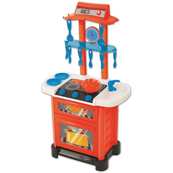Электронная кухня HTI SmartДетские кухни<br>Характеристики товара:<br><br>• Материал: пластик<br>• Возраст: от 3-х лет<br>• Наличие батареек: не входят в комплект.<br>• Тип батареек: 3 х AA / LR6 1.5V (пальчиковые).<br>• Высота кухни: 87 см<br>• Размер кухни 87х50х26 см<br>• Размер упаковки 51х31х14 см<br>• Вес упаковки 2 кг<br>• Страна производитель: Китай<br><br>Электронная кухня Smart HTI — детская кухня для маленькой хозяйки, которая познакомит ее с устройством бытовых приборов, а также позволит попробовать себя настоящим поваром. С ее помощью девочка сможет приготовить самые вкусные блюда. Кухня оборудована раковиной, варочной панелью и духовым шкафом. У духовки открываются дверцы. Все необходимые столовые приборы будут у маленькой хозяйки всегда под рукой, так как для них приспособлены крючки.<br><br>Игрушка оснащена звуковыми эффектами. Во время приготовления слышно звук шипения при жарке и кипящего бульона. Для работы звуковых эффектов требуются 3 батарейки АА (в комплект не входят). Кухня изготовлена из качественного безвредного пластика. В наборе кухня, варочная панель, раковина, духовой шкаф, столовые приборы, тарелки, кастрюля.<br><br>Электронную кухню Smart HTI можно приобрести в нашем интернет-магазине.<br>Ширина мм: 510; Глубина мм: 310; Высота мм: 140; Вес г: 2000; Возраст от месяцев: 36; Возраст до месяцев: 2147483647; Пол: Женский; Возраст: Детский; SKU: 5514326;