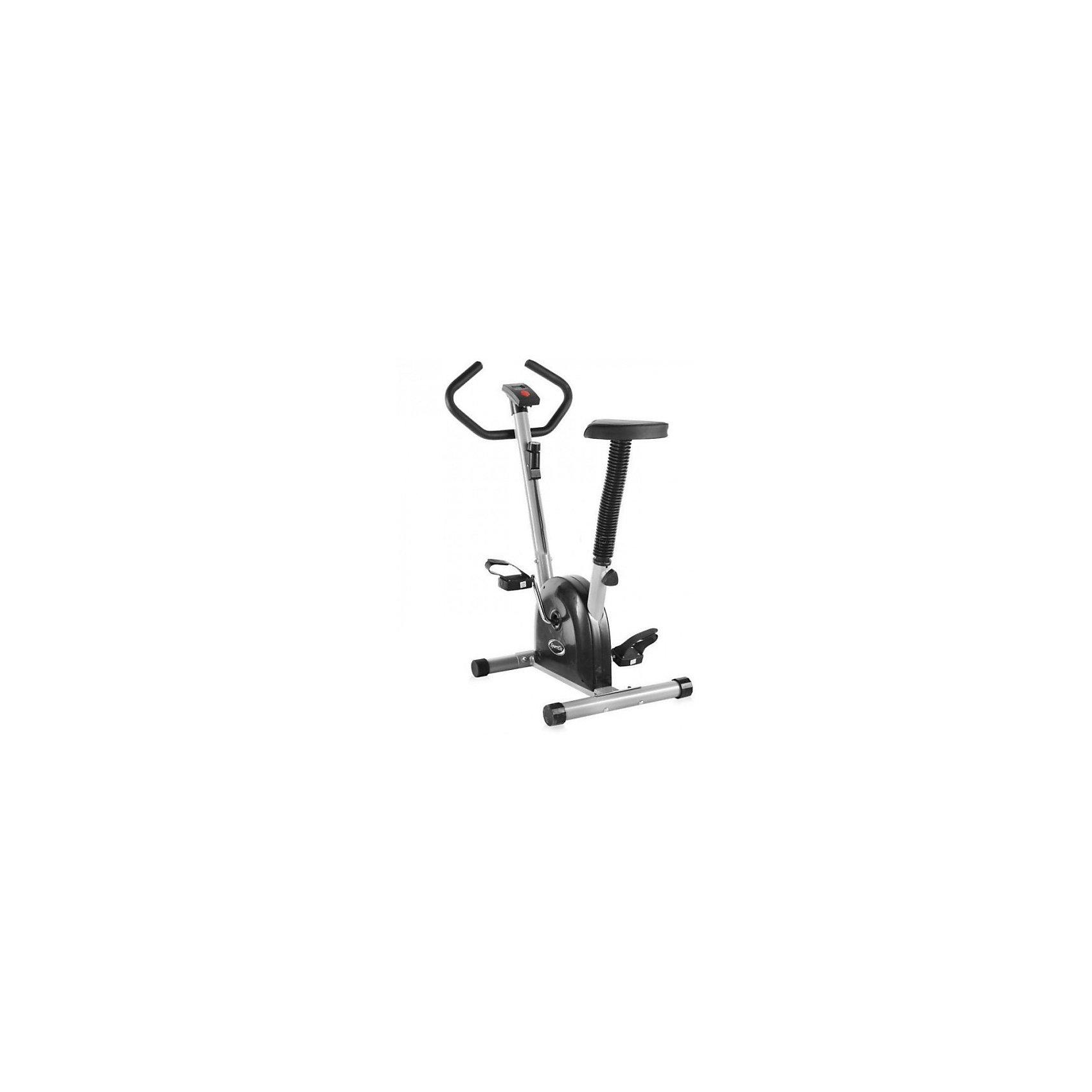 Велотренажер SE-1310, Sport ElitВелотренажер SE-1310<br>Артикул: SE-1310<br>Проверенный временем Ременный велотренажер Sport Elit - 1310 завоевал признание многих покупателей. Простая, но, в то же время, очень эффективная конструкция, механический тип торможения и управления нагрузкой делает этот тренажер очень эффективным в работе и долговечным. Он попросту не может сломаться, в нем все отлично продумано и подогнано друг под друга. Классический дизайн легко впишется в любой интерьер. <br>Несмотря на свой механический тип ременный велотренажер Sport Elit - 1310 снабжен компьютером для измерения дистанции, скорости, времени и количества потраченных калорий. Все параметры тренировки регулярно замеряются и отображаются на экране каждые 6 секунд. Большие нескользящие педали с ремешком и регулировка сидения: по вертикали, позволят любому члену семьи получить удовольствие от занятий на этом замечательном тренажере.<br>. <br><br>Основные характеристики<br>Использование:Домашнее<br>Тип:вертикальный<br>Система нагрузки:ременная<br>Максимальный вес пользователя:100 кг<br>Измерение пульса:Нет<br>Количество уровней нагрузки:8<br>Разработка и дизайн:Тайвань<br>Страна производитель:Китай<br>Монитор и программы<br>Показания консоли:Время тренировки, пройденная дистанция, скорость, расход калорий<br>Количество программ:Программы отсутствуют<br>Спецификации программ:Нет<br>Специальные программные возможности:Нет<br>Многоязычный интерфейс:Нет<br>Интеграция:Нет<br>Дополнительные характеристики<br>Педальный узел:Однокомпонентный<br>Транспортировочные ролики:Нет<br>Возможность программирования тренировки:Нет<br>Регулировка руля:Нет<br>Регулировка положения сиденияпо вертикали<br>Сидение:Мягкое с гелиевым наполнителем<br>Питание:Не требует подключения к сети<br>Габариты и вес тренажера<br>Вес тренажера:12.5 кг<br>Маховик: Нет<br>Габариты тренажера:70 х 46 х 99 см<br>Гарантия:18 месяцев<br><br>Ширина мм: 570<br>Глубина мм: 220<br>Высота мм: 460<br>Вес г: 11200<br>Возраст от месяцев: 120<b
