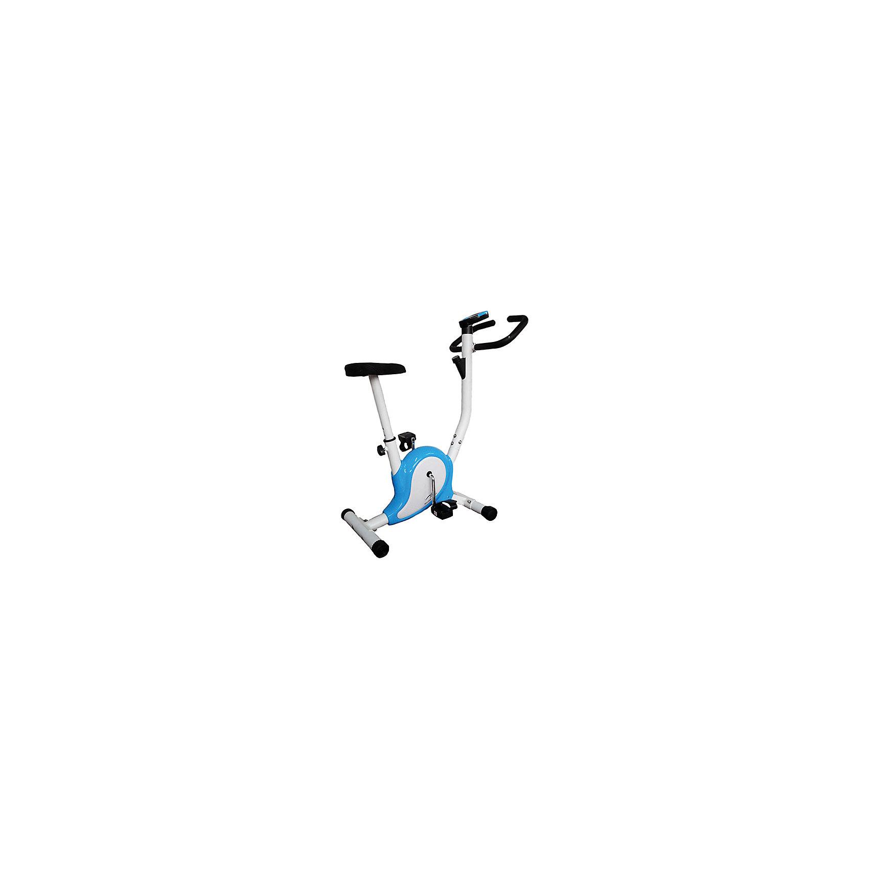 Велотренажер SE-1311, Sport ElitТренажёры<br>Велотренажер SE-1311<br>Ременный велотренажер Sport Elit - 1311 обладает современным динамичным дизайном. Простая, но, в то же время, очень эффективная конструкция, механический тип торможения и управления нагрузкой делает этот тренажер очень эффективным в работе и долговечным. Он попросту не может сломаться, в нем все отлично продумано и подогнано друг под друга. <br>Несмотря на свой механический тип ременный велотренажер Sport Elit - 1311 снабжен компьютером для измерения дистанции, скорости, времени и количества потраченных калорий. Все параметры тренировки регулярно замеряются и отображаются на экране каждые 6 секунд. Большие нескользящие педали с ремешком и регулировка сидения: по вертикали, позволят любому члену семьи получить удовольствие от занятий на этом замечательном тренажере.<br>. <br><br>Основные характеристики<br>Использование:Домашнее<br>Тип:вертикальный<br>Система нагрузки:ременная<br>Максимальный вес пользователя:80 кг<br>Измерение пульса:Нет<br>Количество уровней нагрузки:8<br>Разработка и дизайн:Тайвань<br>Страна производитель:Китай<br>Монитор и программы<br>Показания консоли:Время тренировки, пройденная дистанция, скорость, расход калорий<br>Количество программ:Программы отсутствуют<br>Спецификации программ:Нет<br>Специальные программные возможности:Нет<br>Многоязычный интерфейс:Нет<br>Интеграция:Нет<br>Дополнительные характеристики<br>Педальный узел:Однокомпонентный<br>Транспортировочные ролики:Нет<br>Возможность программирования тренировки:Нет<br>Регулировка руля:Нет<br>Регулировка положения сиденияпо вертикали<br>Сидение:Мягкое с гелиевым наполнителем<br>Питание:Не требует подключения к сети<br>Габариты и вес тренажера<br>Вес тренажера:12 кг<br>Маховик:НЕТ<br>Габариты тренажера:70 х 46 х 99 см<br>Гарантия:18 месяцев<br><br>.<br><br>Ширина мм: 640<br>Глубина мм: 470<br>Высота мм: 240<br>Вес г: 13000<br>Возраст от месяцев: 120<br>Возраст до месяцев: 1188<br>Пол: Унисекс<br>Возраст: Детский<br>SKU: 55