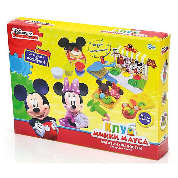 Набор для лепки  Disney Клуб Микки Мауса 3D галерея (масса для лепки - 5 цв)Наборы для лепки<br>Вместе с наборами Disney можно самостоятельно создавать разнообразные поделки!<br>В отличие от пластилина, масса для лепки Disney мягкая, очень пластичная и приятная на ощупь, поэтому ребёнку легко с ней работать. Она не прилипает к рукам и не оставляет жирных следов на одежде и мебели.<br>Масса нетоксична. Она имеет солёный вкус, что предостерегает ребёнка от желания съесть её.<br>Оригинальные и узнаваемые аксессуары Disney развивают воображение и творческое мышление малыша.<br><br>Ширина мм: 320<br>Глубина мм: 240<br>Высота мм: 580<br>Вес г: 520<br>Возраст от месяцев: 36<br>Возраст до месяцев: 72<br>Пол: Мужской<br>Возраст: Детский<br>SKU: 5515060