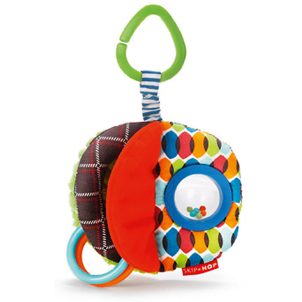 Развивающая игрушка-подвеска Мячик, Skip HopИгрушки для новорожденных<br><br><br>Ширина мм: 139<br>Глубина мм: 228<br>Высота мм: 36<br>Вес г: 100<br>Возраст от месяцев: 6<br>Возраст до месяцев: 60<br>Пол: Унисекс<br>Возраст: Детский<br>SKU: 5516393