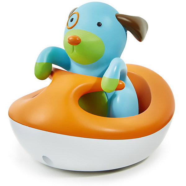 Игрушка для ванной Щенок на гидроцикле, Skip HopИгрушки для ванной<br><br><br>Ширина мм: 177<br>Глубина мм: 152<br>Высота мм: 76<br>Вес г: 322<br>Возраст от месяцев: 24<br>Возраст до месяцев: 48<br>Пол: Унисекс<br>Возраст: Детский<br>SKU: 5516394