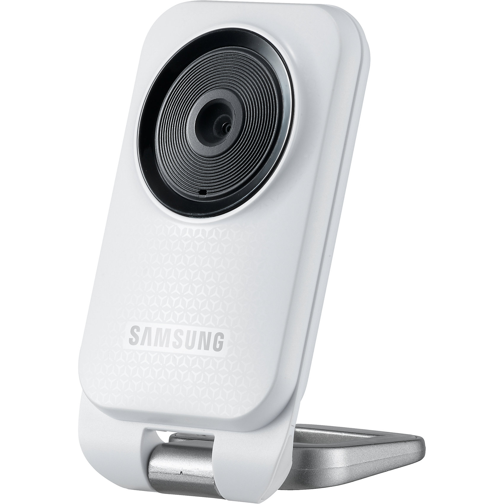 Видеоняня Wi-Fi SmartCam SNH-V6110BN, SamsungДетская бытовая техника<br>Видеоняня для присмотра ребенком с помощью смартфона, планшета или компьютера через интернет из любой точки планеты от известного производителя высококачественной электроники Samsung SmartCam SNH-V6110BN. Особенности видеоняни заключаются в стабильной работе и стабильном приложении для мобильных устройств. Камера отличается возможностью выбора нескольких отдельных областей для отслеживания движения, например, только в зоне расположения детской кроватки и еще в двух любых областях. Высокое качество потокового видео в формате Full HD 1080p. Видеоняня отправляет на мобильное устройство оповещения при обнаружении звука (плача) или движения.<br><br>Практически у всех родителей ребенок спит при свете детского ночничка, освещения которого вполне достаточно для того, чтобы не использовать ночную подсветку камеры. У видеоняни Samsung SmartCam SNH-V6110BN ночная подсветка не включается, а изображение на экране мобильного устройства в ночное время при свете детского ночничка выводится в цветном виде, что является неоспоримым преимуществом по сравнению с другими камерами, использующими инфракрасную подсветку, при которой изображение выводится в черно-белом виде.<br><br>Особенности Wi-Fi Full HD 1080p видеоняни Samsung SmartCam SNH-V6110BN<br><br>Потоковое видео 1080p Full HD с возможностью адаптации (для сетей со слабой пропускной способностью)<br>Компактные размеры<br>Оповещения о событиях (push-уведомления: движение, звук)<br>Выбор нескольких зон отслеживания<br>Лёгкое подключение<br>Двухсторонняя связь<br>Колыбельные мелодии<br>Запись видео и фото<br>Проигрывание собственных звуковых записей<br>Поддержка устройств iOS (iPad, iPhone), Android, Windows (настольные компьютеры), Mac<br>Ночное видение не включается, но даже при слабом освещении (например, при включенном детском ночнике) в комнате достаточная видимость, а изображение на экране цветное.<br>Удобная подставка и возможность регулировки угла наклон