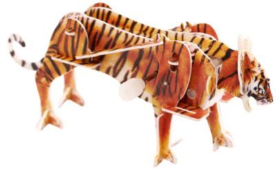 Конструктор – 3D пазл заводной: Тигр, UF