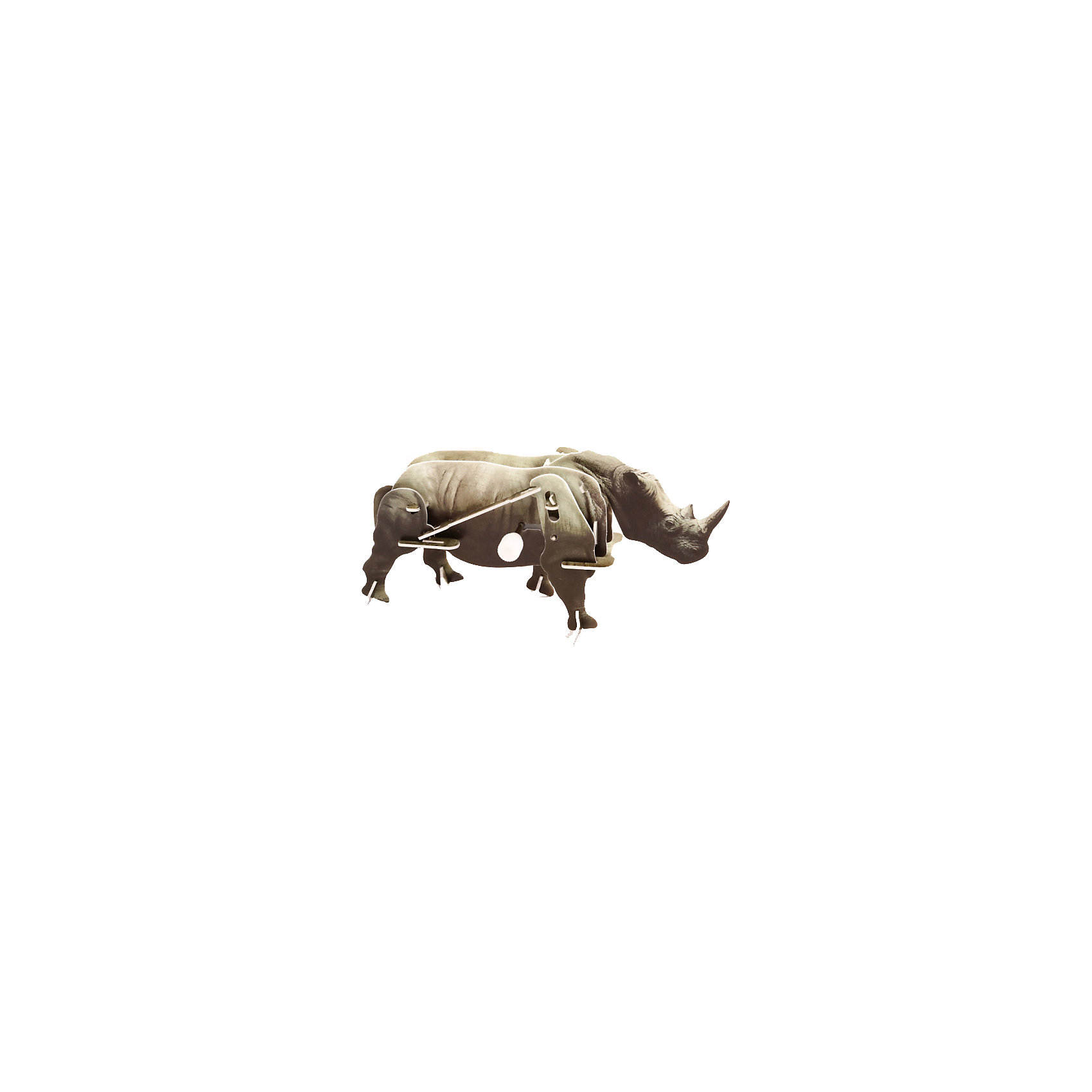 Конструктор – 3D пазл заводной: Носорог, UFПластмассовые конструкторы<br>Фигурку заводного носорога из этого набора ребенку предлагается собрать своими руками. Для сборки используются прочные пластиковые детали, которые вставляются друг в друга без клея. Интересный момент: в конструкции присутствует заводной механизм. Именно он будет заставлять фигурку перебирать ногами и двигаться. Сборка пазла тренирует пространственное мышление, воображение и моторику пальцев, а с готовой фигуркой интересно играть.<br><br>Ширина мм: 135<br>Глубина мм: 100<br>Высота мм: 25<br>Вес г: 47<br>Возраст от месяцев: 72<br>Возраст до месяцев: 1188<br>Пол: Унисекс<br>Возраст: Детский<br>SKU: 5516765