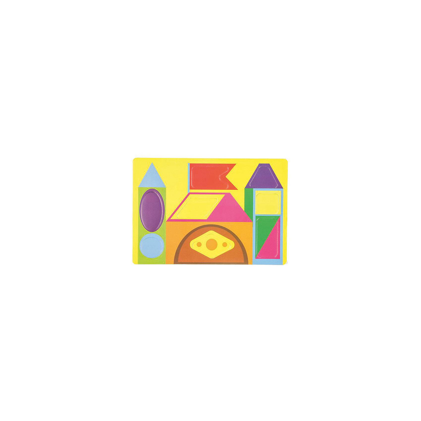 Мягкий конструктор Цветные формыМягкие пазлы<br>Мягкий конструктор Цветные формы<br><br>Характеристики:<br><br>• развивает мелкую моторику, логику и пространственное мышление<br>• мягкие детали из безопасных материалов<br>• размер упаковки: 22х24,3 см<br>• издательство: Феникс-Премьер<br>• вес: 25 грамм<br><br>Мягкий конструктор привлечет внимание ребенка и поможет провести время с пользой. Конструктор состоит из нескольких мягких деталей, из которых ребенок сможет собрать красивый геометрический узор или сооружение. Игра с мягким конструктором поможет развить мелкую моторику, координацию движений, логическое и пространственное мышление.<br><br>Мягкий конструктор Цветные формы можно купить в нашем интернет-магазине.<br><br>Ширина мм: 243<br>Глубина мм: 220<br>Высота мм: 20<br>Вес г: 25<br>Возраст от месяцев: 36<br>Возраст до месяцев: 2147483647<br>Пол: Унисекс<br>Возраст: Детский<br>SKU: 5518117