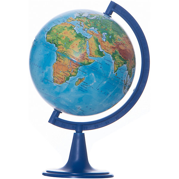 Глобус Земли физический, диаметр 150 ммГлобусы<br>Характеристики товара:<br><br>• возраст от 6 лет;<br>• материал: пластик;<br>• цвет подставки: чёрный<br>• диаметр глобуса 150 мм;<br>• масштаб 1:84000000;<br>• размер упаковки 25х16х16 см;<br>• вес упаковки 350 гр.;<br>• страна производитель: Россия.<br><br>Глобус Земли физический 150 мм Глобусный мир — уменьшенная копия нашей планеты. Глобус станет отличным дополнением во время изучения географии для школьника или студента. На нем можно найти расположение стран и их столиц, а также поближе познакомиться с рельефом и строением нашей планеты. На нем нанесены материки, океаны и моря, острова, глубоководные впадины, горы и возвышенности.<br><br>Глобус Земли физический 150 мм Глобусный мир можно приобрести в нашем интернет-магазине.<br><br>Ширина мм: 160<br>Глубина мм: 160<br>Высота мм: 250<br>Вес г: 350<br>Возраст от месяцев: 72<br>Возраст до месяцев: 2147483647<br>Пол: Унисекс<br>Возраст: Детский<br>SKU: 5518210