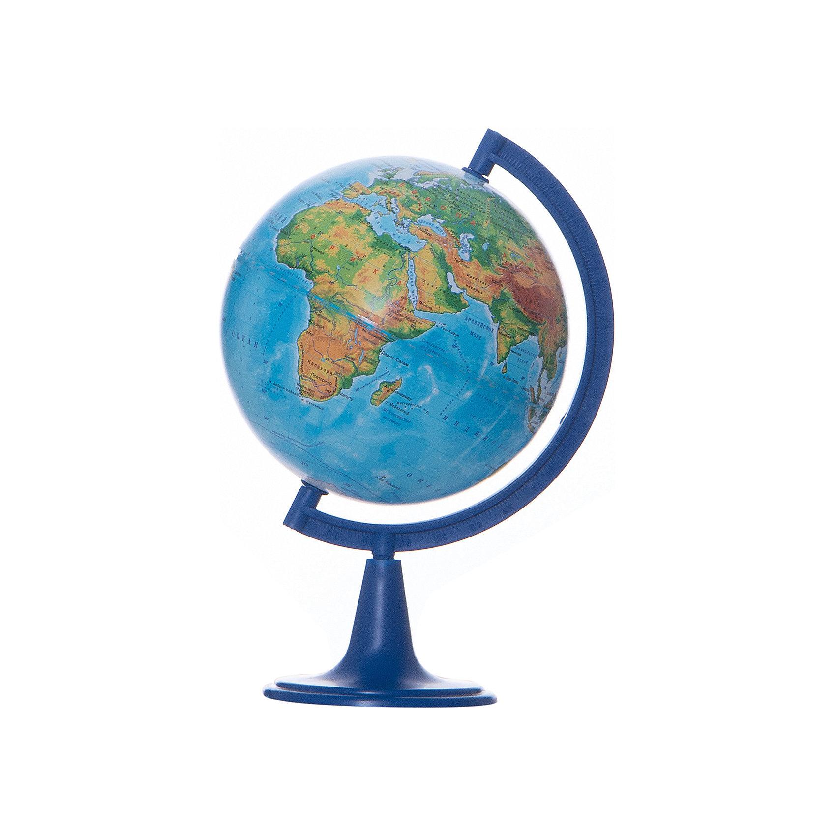 Глобус Земли физический, диаметр 150 ммДиаметр: 150 мм<br><br>Масштаб: 1:84000000<br><br>Материал подставки: Пластик<br><br>Цвет подставки: Черный<br><br>Ширина мм: 160<br>Глубина мм: 160<br>Высота мм: 250<br>Вес г: 350<br>Возраст от месяцев: 72<br>Возраст до месяцев: 2147483647<br>Пол: Унисекс<br>Возраст: Детский<br>SKU: 5518210