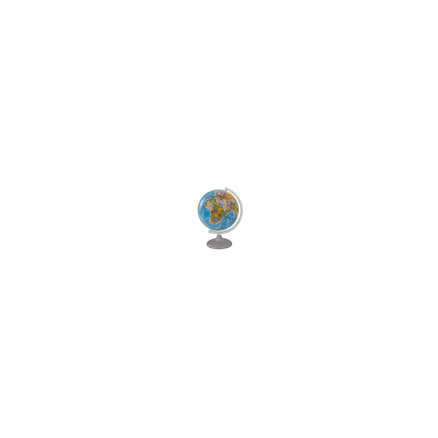 Глобус Земли политический, диаметр 250 ммДиаметр: 250 мм<br><br>Масштаб: 1:50000000<br><br>Материал подставки: Пластик<br><br>Цвет подставки: Прозрачный<br><br>Ширина мм: 260<br>Глубина мм: 260<br>Высота мм: 360<br>Вес г: 800<br>Возраст от месяцев: 72<br>Возраст до месяцев: 2147483647<br>Пол: Унисекс<br>Возраст: Детский<br>SKU: 5518219
