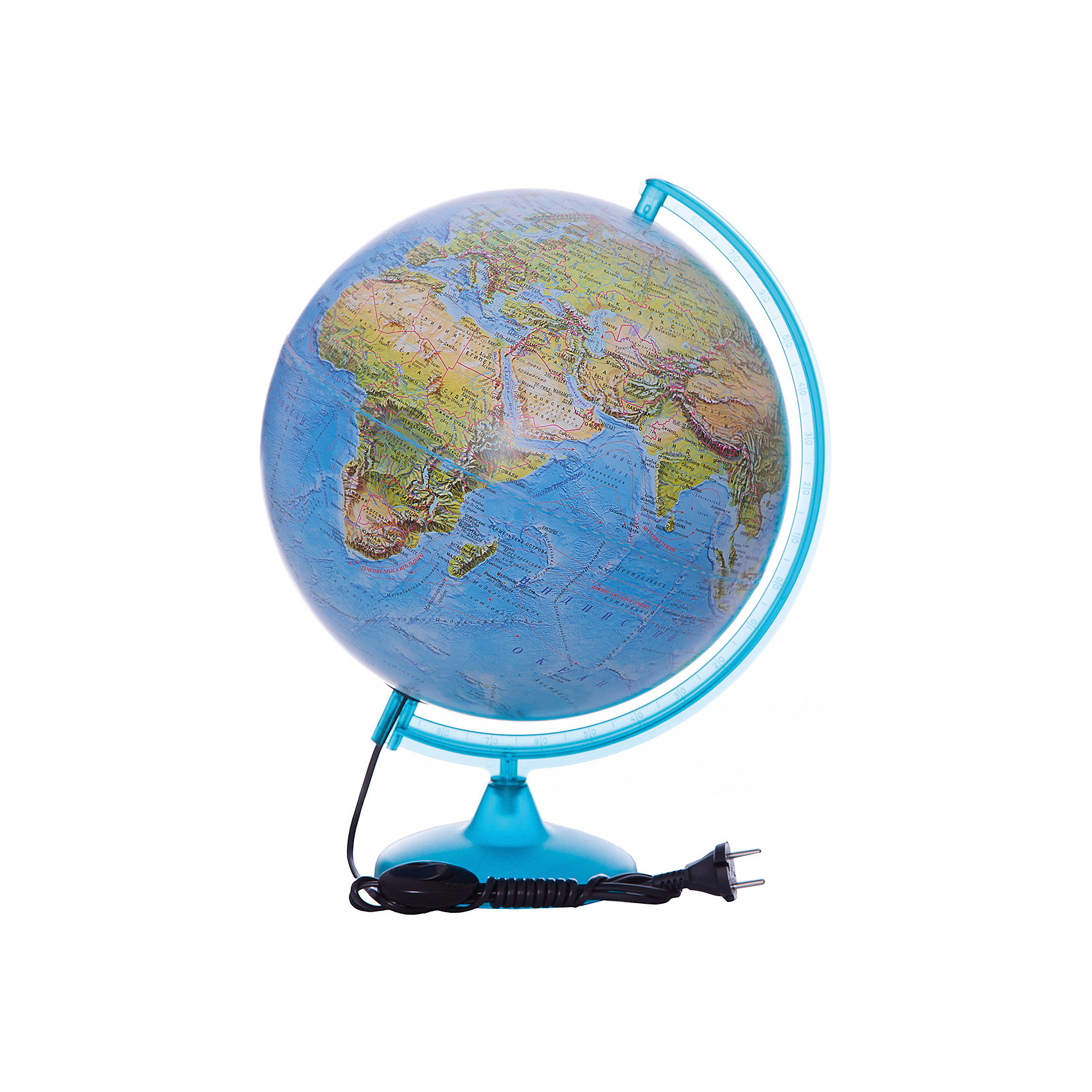 Глобус Земли «Двойная карта» с подсветкой, диаметр 320 ммДиаметр: 320 мм<br><br>Масштаб: 1:40000000<br><br>Материал подставки: Пластик<br><br>Цвет подставки: Черный<br><br>Ширина мм: 343<br>Глубина мм: 343<br>Высота мм: 355<br>Вес г: 1035<br>Возраст от месяцев: 72<br>Возраст до месяцев: 2147483647<br>Пол: Унисекс<br>Возраст: Детский<br>SKU: 5518223