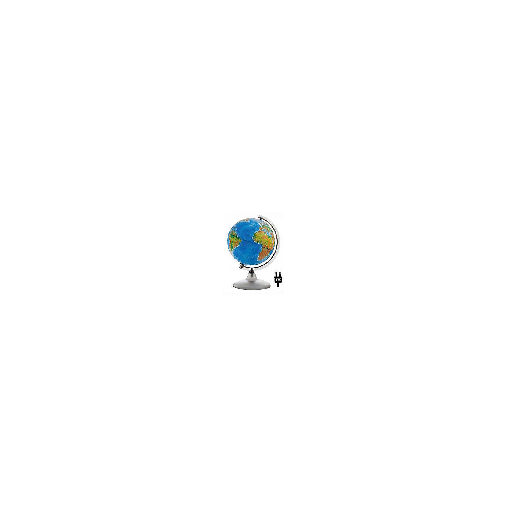 Глобус Земли «Двойная карта» с подсветкой, диаметр 210 ммДиаметр: 210 мм<br><br>Масштаб: 1:60000000<br><br>Материал подставки: Дерево<br><br>Цвет подставки: Вишня, Орех.<br><br>Ширина мм: 217<br>Глубина мм: 217<br>Высота мм: 300<br>Вес г: 800<br>Возраст от месяцев: 72<br>Возраст до месяцев: 2147483647<br>Пол: Унисекс<br>Возраст: Детский<br>SKU: 5518225