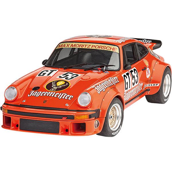Автомобиль Porsche 934 RSR J?germeisterАвтомобили<br>Характеристики товара:<br><br>• возраст: от 10 лет;<br>• масштаб: 1:24;<br>• количество деталей: 104 шт;<br>• материал: пластик;<br>• клей и краски в комплект не входят;<br>• длина модели: 17,9 см;<br>• бренд, страна бренда: Revell (Ревел),Германия;<br>• страна-изготовитель: Германия.<br><br>Сборная модель для склеивания «Автомобиль Porsche 934 RSR J?germeister» поможет вам и вашему ребенку придумать увлекательное занятие на долгое время и получить хорошую игрушку.<br><br>Набор включает в себя 104 пластиковых элемента и наклейки  из которых можно собрать невероятно реалистичную машинку. В комплект также входит схематичная инструкция. Собранный автомобиль имеет прекрасно проработанный салон, капот машины открываются, колеса вращаются.<br><br>Процесс сборки развивает интеллектуальные и инструментальные способности, воображение и конструктивное мышление, а также прививает практические навыки работы со схемами и чертежами. <br><br>Обращаем ваше внимание на тот факт, что для сборки этой модели клей, кисточки и краски в комплект не входят. <br><br>Сборную модель для склеивания «Автомобиль Porsche 934 RSR J?germeister», 104 дет., Revell (Ревел) можно купить в нашем интернет-магазине.<br>Ширина мм: 356; Глубина мм: 215; Высота мм: 73; Вес г: 391; Возраст от месяцев: 120; Возраст до месяцев: 168; Пол: Мужской; Возраст: Детский; SKU: 5518799;