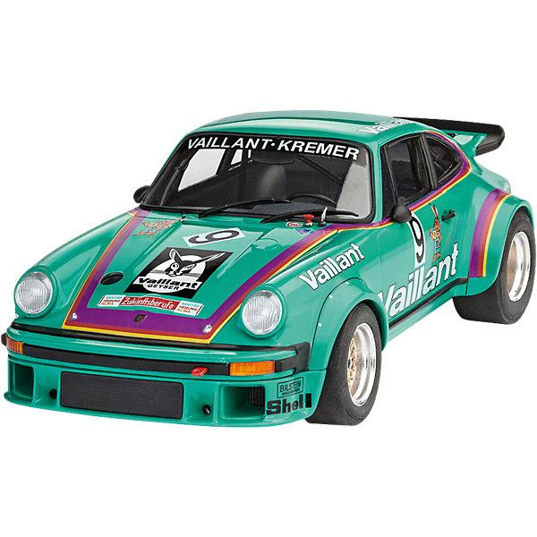 Автомобиль Porsche 934 RSR VaillantАвтомобили<br>Характеристики товара:<br><br>• возраст: от 10 лет;<br>• масштаб: 1:24;<br>• количество деталей: 104 шт;<br>• материал: пластик;<br>• клей и краски в комплект не входят;<br>• длина модели: 17,9 см;<br>• бренд, страна бренда: Revell (Ревел),Германия;<br>• страна-изготовитель: Германия.<br><br>Сборная модель для склеивания «Автомобиль Porsche 934 RSR Vaillant» поможет вам и вашему ребенку придумать увлекательное занятие на долгое время и получить хорошую игрушку.<br><br>Набор включает в себя 104 пластиковых элемента и наклейки  из которых можно собрать невероятно реалистичную машинку. В комплект также входит схематичная инструкция. Собранный автомобиль имеет прекрасно проработанный салон, капот машины открываются, колеса вращаются.<br><br>Процесс сборки развивает интеллектуальные и инструментальные способности, воображение и конструктивное мышление, а также прививает практические навыки работы со схемами и чертежами. <br><br>Обращаем ваше внимание на тот факт, что для сборки этой модели клей, кисточки и краски в комплект не входят. <br><br>Сборную модель для склеивания «Автомобиль Porsche 934 RSR Vaillant», 104 дет., Revell (Ревел) можно купить в нашем интернет-магазине.<br>Ширина мм: 356; Глубина мм: 215; Высота мм: 71; Вес г: 397; Возраст от месяцев: 120; Возраст до месяцев: 168; Пол: Мужской; Возраст: Детский; SKU: 5518800;