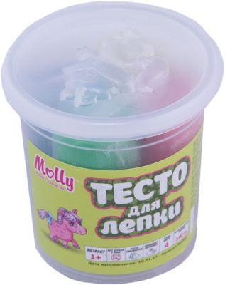 Molly Тесто для лепки 4 цвета