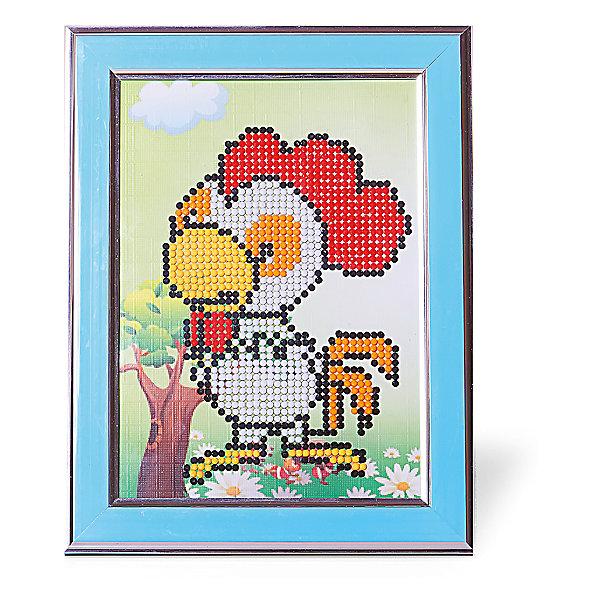 Картины мозаикой Петушок, 5 цветовМозаика детская<br>Картины мозаикой Петушок, 5 цветов.<br><br>Характеристики:<br><br>• Для детей в возрасте: от 7 лет<br>• В наборе: трафарет из плотного картона с клеевым слоем и нанесенной схемой рисунка, декоративная пластиковая рамка с безопасным защитным оргстеклом, пластиковый контейнер для элементов мозаики, подложка для рамки с подставкой, специальный клеевой карандаш, комплект разноцветных круглых мозаичных элементов размером 2,5 мм.<br>• Количество цветов: 5<br>• Размер картины: 17х21 см.<br>• Площадь заполнения: частичная<br>• Уровень сложности: средний<br>• Размер упаковки: 23х19х3 см.<br><br>В этом наборе уже есть все для создания маленького шедевра: разноцветные элементы мозаики, контейнер для мозаики, специальный карандаш с клеем, рамка с подставкой, защитное оргстекло, которое надежно сохранит готовую картину, и основа с клеевым слоем, на которую уже нанесен рисунок. Нужно лишь приклеить мозаичные элементы на основу с нанесенным контуром - и яркая картинка готова. Картина мозаикой, созданная своими руками, станет превосходным украшением детской комнаты, а также послужит замечательным подарком родным и близким.<br><br>Картину мозаикой Петушок, 5 цветов можно купить в нашем интернет-магазине.<br>Ширина мм: 180; Глубина мм: 230; Высота мм: 300; Вес г: 250; Возраст от месяцев: 84; Возраст до месяцев: 2147483647; Пол: Унисекс; Возраст: Детский; SKU: 5519363;
