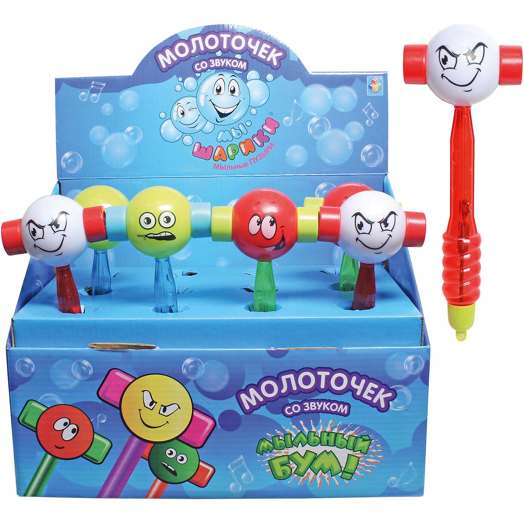 Мыльные пузыри Мы-шарики! Молоточек, с игрушкой, 30мл. , 1ToyМыльные пузыри<br>1toy мыл.пуз.Мы-шарики! с игрушкой, Молоточек 30мл. в д/б<br><br>Ширина мм: 80<br>Глубина мм: 50<br>Высота мм: 80<br>Вес г: 94<br>Возраст от месяцев: 36<br>Возраст до месяцев: 192<br>Пол: Унисекс<br>Возраст: Детский<br>SKU: 5519372
