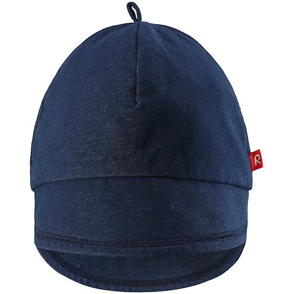 Кепка Ankkuri для девочки ReimaШапки и шарфы<br>Характеристики товара:<br><br>• цвет: синий<br>• состав: 100% хлопок<br>• эластичный материал<br>• подкладка: отводящий влагу материал Play Jersey<br>• фактор защиты от ультрафиолета: 40+<br>• с логотипом<br>• комфортная посадка<br>• страна производства: Китай<br>• страна бренда: Финляндия<br>• коллекция: весна-лето 2017<br><br>Кепка - это простая и стильная вещь, которая не только подчеркнет индивидуальность стиля, также защитит от солнца или дождя.<br><br>Одежда и обувь от финского бренда Reima пользуется популярностью во многих странах. <br><br>Эти изделия стильные, качественные и удобные. Для производства продукции используются только безопасные, проверенные материалы и фурнитура. <br><br>Порадуйте ребенка модными и красивыми вещами от Reima! <br><br>Кепку Ankkuri для девочки от финского бренда Reima (Рейма) можно купить в нашем интернет-магазине.<br><br>Ширина мм: 89<br>Глубина мм: 117<br>Высота мм: 44<br>Вес г: 155<br>Цвет: синий<br>Возраст от месяцев: 6<br>Возраст до месяцев: 9<br>Пол: Женский<br>Возраст: Детский<br>Размер: 46,50<br>SKU: 5520683
