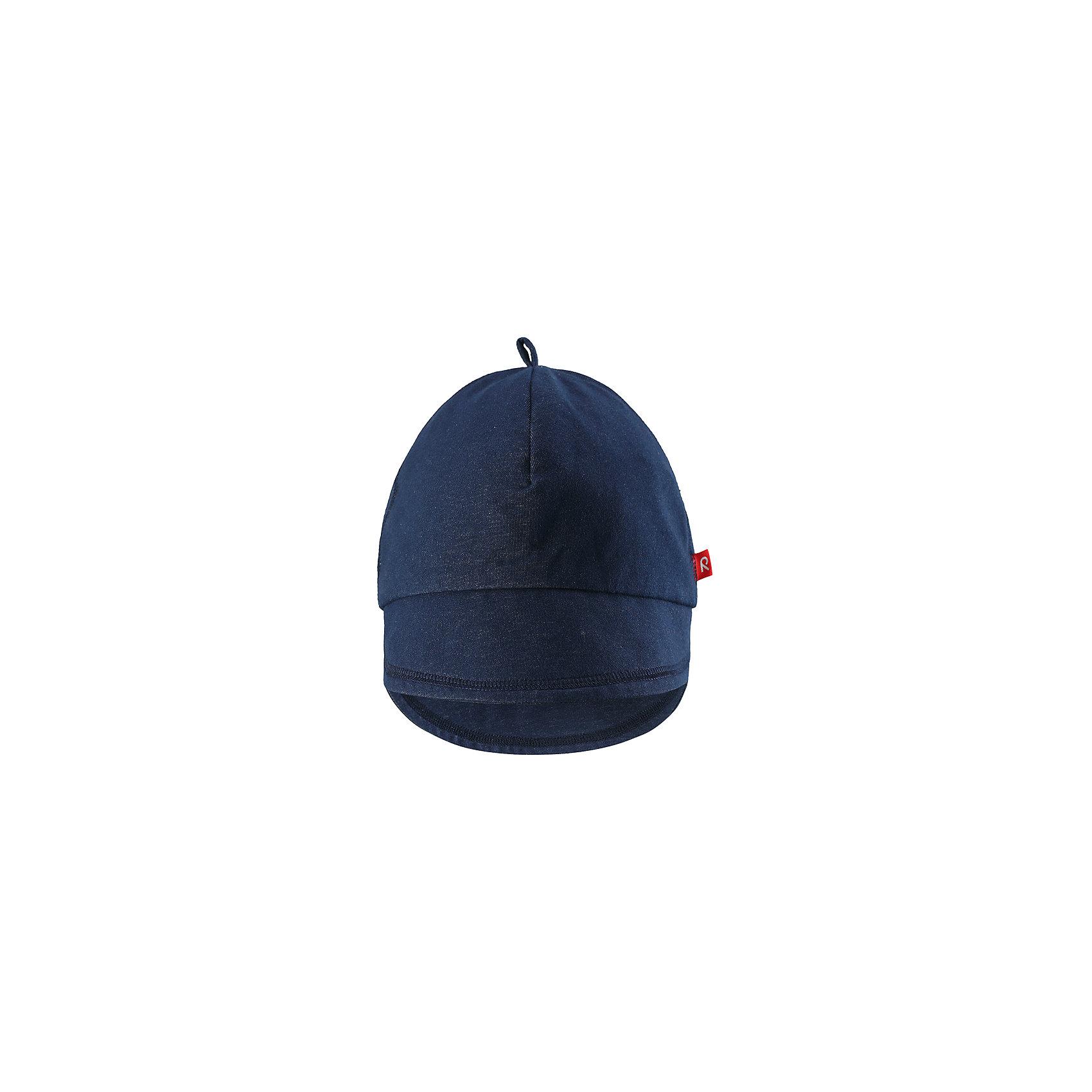 Кепка Ankkuri для девочки ReimaШапки и шарфы<br>Характеристики товара:<br><br>• цвет: синий<br>• состав: 100% хлопок<br>• эластичный материал<br>• подкладка: отводящий влагу материал Play Jersey<br>• фактор защиты от ультрафиолета: 40+<br>• с логотипом<br>• комфортная посадка<br>• страна производства: Китай<br>• страна бренда: Финляндия<br>• коллекция: весна-лето 2017<br><br>Кепка - это простая и стильная вещь, которая не только подчеркнет индивидуальность стиля, также защитит от солнца или дождя.<br><br>Одежда и обувь от финского бренда Reima пользуется популярностью во многих странах. <br><br>Эти изделия стильные, качественные и удобные. Для производства продукции используются только безопасные, проверенные материалы и фурнитура. <br><br>Порадуйте ребенка модными и красивыми вещами от Reima! <br><br>Кепку Ankkuri для девочки от финского бренда Reima (Рейма) можно купить в нашем интернет-магазине.<br><br>Ширина мм: 89<br>Глубина мм: 117<br>Высота мм: 44<br>Вес г: 155<br>Цвет: синий<br>Возраст от месяцев: 18<br>Возраст до месяцев: 36<br>Пол: Женский<br>Возраст: Детский<br>Размер: 50,46<br>SKU: 5520683