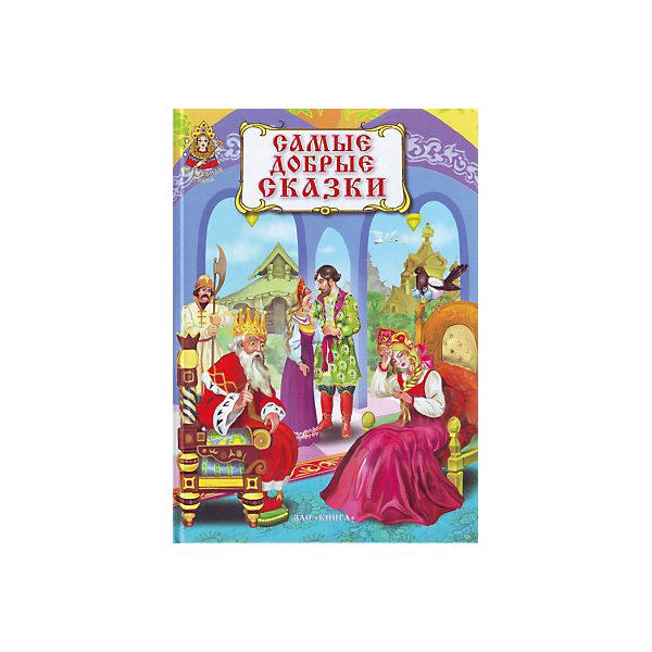 Самые добрые сказки: серия сказок Волшебная странаСказки<br>Самые добрые сказки. Серия сказок Волшебная страна.<br><br>Характеристики:<br><br>• Для детей в возрасте: от 3 лет<br>• Художник: Гордиенко А. А.<br>• Издательство: ЗАО Книга<br>• Серия: Волшебная страна<br>• Тип обложки: 7Бц - твердая, целлофанированная (или лакированная)<br>• Иллюстрации: цветные<br>• Количество страниц: 128 (офсет)<br>• Размер: 245х175х12 мм.<br>• Вес: 398 гр.<br>• ISBN: 9785872594086<br><br>В этой книжке живут сказки: Хаврошечка, Серебряное Блюдечко и наливное яблочко, Морозко, Сестрица Аленушка и братец Иванушка, Безногий и слепой богатыри, Терешечка, Белая уточка, Наказанная царевна, Золотое веретено.<br>Для младшего школьного возраста. <br><br>Книгу Самые добрые сказки. Серия сказок Волшебная страна можно купить в нашем интернет-магазине.<br><br>Ширина мм: 245<br>Глубина мм: 170<br>Высота мм: 100<br>Вес г: 500<br>Возраст от месяцев: 36<br>Возраст до месяцев: 2147483647<br>Пол: Унисекс<br>Возраст: Детский<br>SKU: 5521189