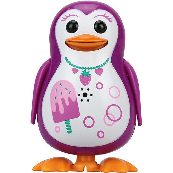 Поющий пингвин с кольцом, розовый, принт мороженое,  DigiBirdsИнтерактивные животные<br><br>Ширина мм: 64; Глубина мм: 152; Высота мм: 102; Вес г: 91; Возраст от месяцев: 36; Возраст до месяцев: 84; Пол: Унисекс; Возраст: Детский; SKU: 5522712;