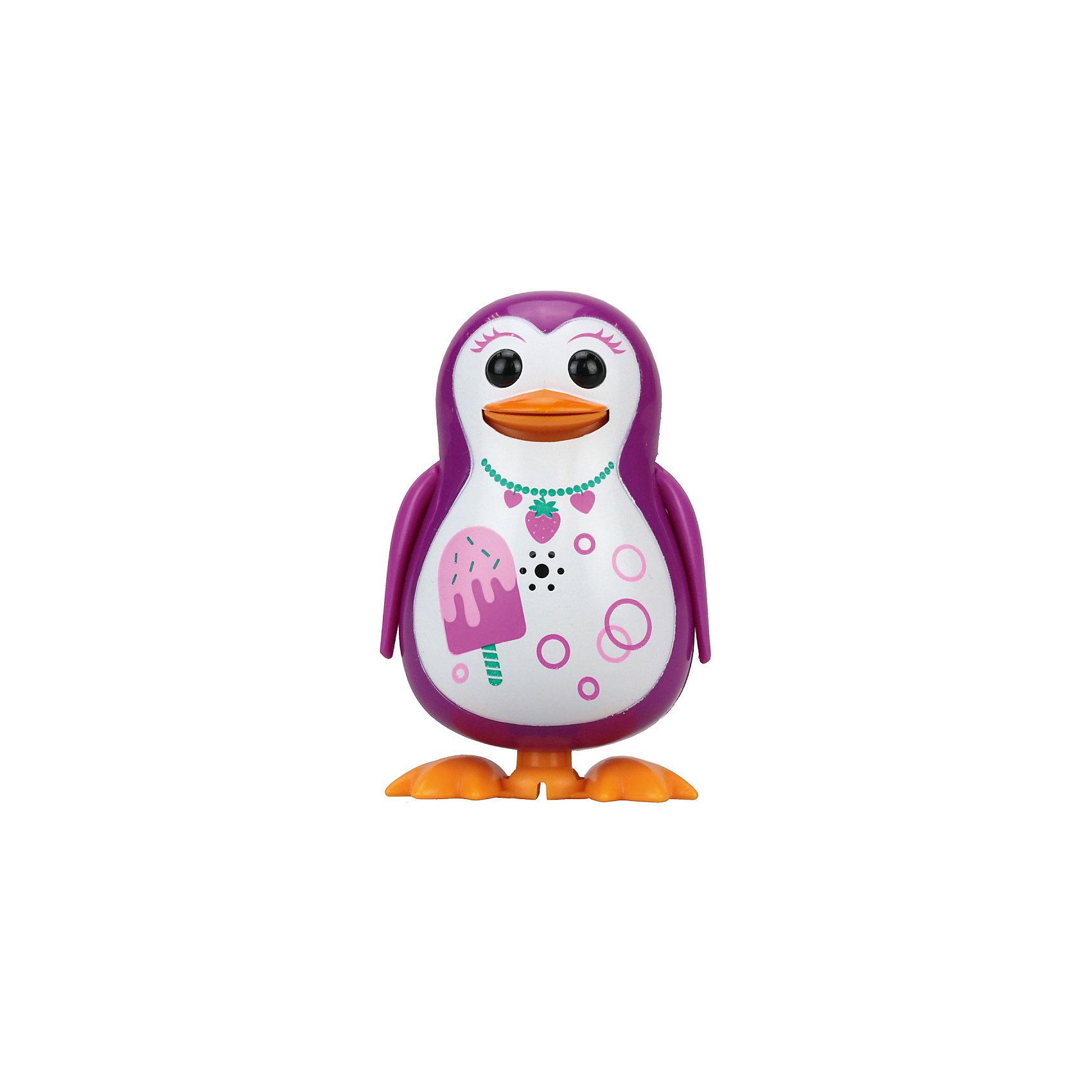Поющий пингвин с кольцом, розовый, принт мороженое,  DigiBirdsИнтерактивные животные<br><br><br>Ширина мм: 64<br>Глубина мм: 152<br>Высота мм: 102<br>Вес г: 91<br>Возраст от месяцев: 36<br>Возраст до месяцев: 84<br>Пол: Унисекс<br>Возраст: Детский<br>SKU: 5522712