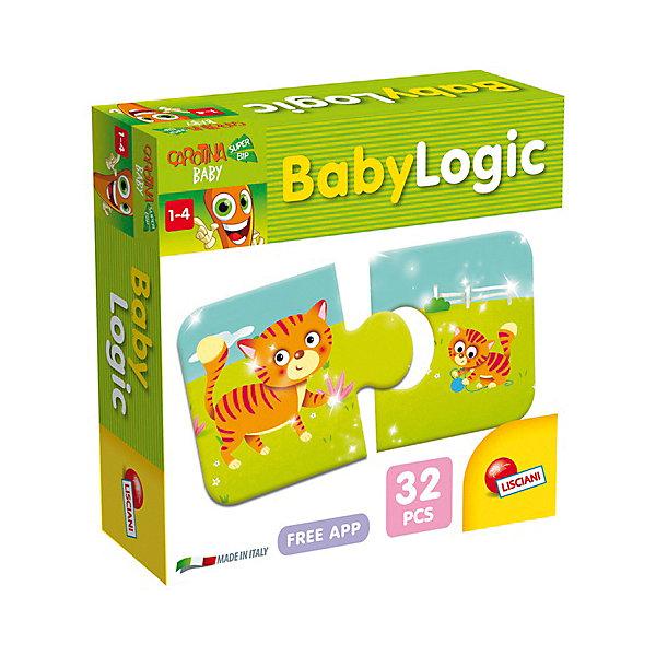 Игра настольная Бэбилогика, LiscianiОкружающий мир<br>Игра настольная Бэбилогика, Lisciani<br><br>Характеристики:<br><br>• В набор входит: 42 карточки, инструкция<br>• Размер упаковки: 21х10,5х14 см.<br>• Состав: картон, бумага<br>• Количество игроков: от 2 до 6<br>• Вес: 900 г.<br>• Для детей в возрасте: от 3 лет<br>• Страна производитель: Италия<br><br>Эта игра на развитие логики наполнена различными животными и их детьми в виде карточек из двух парных пазлов. Ребёнку нужно соединить маму с её малышом. В набор входит более двадцати разных видов животных, с помощью которых дети смогут увеличить свой словарный запас.<br><br>Игру настольную Бэбилогика, Lisciani можно купить в нашем интернет-магазине.<br><br>Ширина мм: 186<br>Глубина мм: 175<br>Высота мм: 60<br>Вес г: 600<br>Возраст от месяцев: 12<br>Возраст до месяцев: 2147483647<br>Пол: Унисекс<br>Возраст: Детский<br>SKU: 5522903
