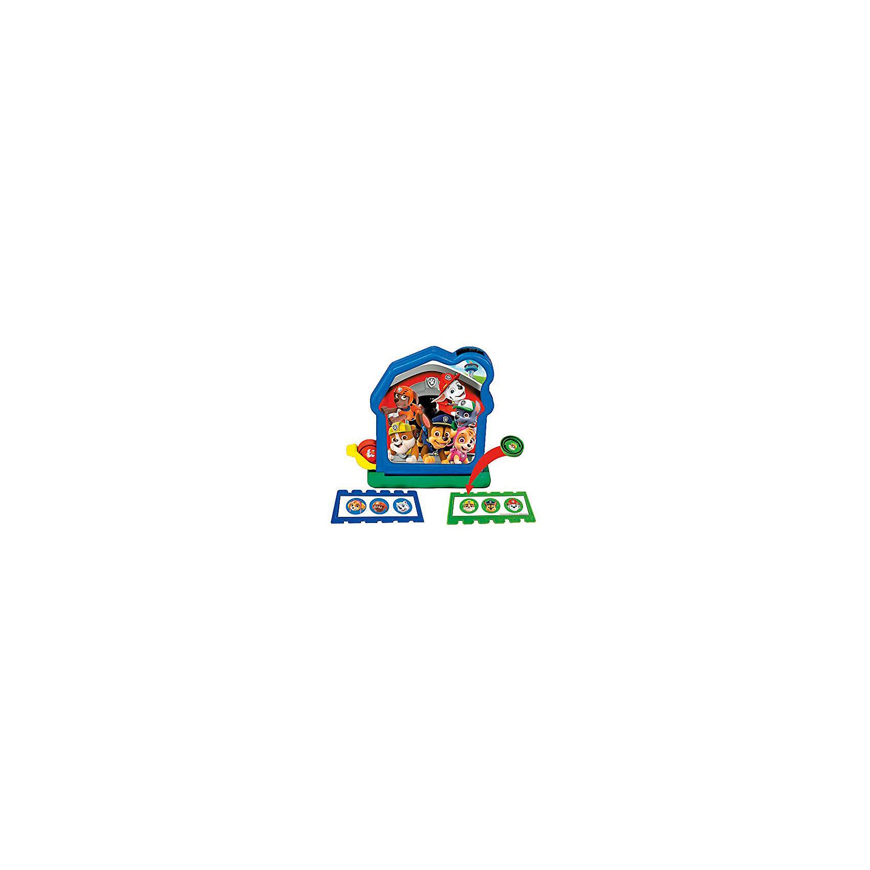 Настольная игра Бинго: Щенячий патруль - Домик щенков-спасателей, Spin MasterНастольные игры<br>Характеристики товара:<br><br>• возраст от 3 лет<br>• материал: пластик<br>• в наборе: домик, 12 фишек, 4 карточки, 2 листа с наклейками, инструкция<br>• количество предполагаемых игроков: от 2<br>• размер упаковки 27х27х8 см<br>• вес упаковки 613 г.<br>• страна бренда: Канада<br>• страна производитель: Китай<br><br>Игра «Домик щенков-спасателей» Щенячий патруль Spin Master — увлекательная игра для детей, созданная по мотивам известного мультфильма «Щенячий патруль» про храбрых щенков-спасателей. Каждый игрок получает карточку. Домик выполнен в виде лототрона, в котором находятся фишки с изображениями героев. Фишками, которые выпадают из лототрона, надо закрывать карточку. Цель игроков — как можно быстрее заполнить свою карточку.<br><br>Игру «Домик щенков-спасателей» Щенячий патруль Spin Master можно приобрести в нашем интернет-магазине.<br><br>Ширина мм: 270<br>Глубина мм: 270<br>Высота мм: 80<br>Вес г: 613<br>Возраст от месяцев: 60<br>Возраст до месяцев: 2147483647<br>Пол: Унисекс<br>Возраст: Детский<br>SKU: 5523110