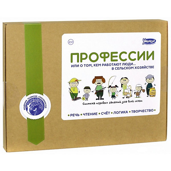 Настольная игра  Профессии: Сельское хозяйствоМетодики раннего развития<br>Характеристики:<br><br>• Вид игр: обучающие, развивающие<br>• Серия: Развивающие книги<br>• Материал: картон, бумага<br>• Комплектация: 3 книги о профессиях, набор карточек с буквами и цифрами, комплект игровых фишек<br>• Тип упаковки: картонная коробка<br>• Размеры упаковки (Д*Ш*В): 30,5*23,5*28 см<br>• Вес в упаковке: 1 кг 240 г<br><br>Книга Профессии: Сельское хозяйство состоит из 3 книжек, в которых приведено описание рода занятий людей, занятых в сельском хозяйстве: фермер, мельник, охотник, мелиоратор, агроном и многие другие. Каждая профессия сопровождается иллюстративным материалом и текстами. Текстовая часть приведена в сжатой форме и адаптирована для детей дошкольного возраста. Дополнительно в комплекте предусмотрены рекомендации для родителей. <br><br>Книга Профессии: Сельское хозяйство выполнена по типу комплексной методики: она содержит в себе не только обучающий материал (порядка 100 занятий), но и задания для закрепления пройденного материала. Занятия с данной книгой позволят расширить словарный запас слов, обогатить кругозор вашего ребенка и повысить уровень его эрудиции.<br><br>Книгу Профессии: Сельское хозяйство можно купить в нашем интернет-магазине.<br><br>Ширина мм: 305<br>Глубина мм: 235<br>Высота мм: 280<br>Вес г: 1240<br>Возраст от месяцев: 36<br>Возраст до месяцев: 2147483647<br>Пол: Унисекс<br>Возраст: Детский<br>SKU: 5523180