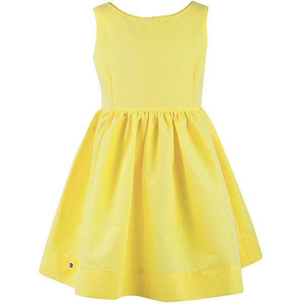 Платье для девочки  BUTTON BLUEПлатья и сарафаны<br>Платье для девочки  BUTTON BLUE<br>Прекрасный летний вариант - яркое текстильное платье на тонкой хлопковой подкладке. Модный силуэт, комфортная форма делают платье для девочки отличным решением для каждого дня лета. Если вы хотите приобрести одновременно и красивую, и практичную, и удобную вещь, вам стоит купить детское платье от Button Blue. Низкая цена не окажет влияния на бюджет семьи, позволив создать интересный базовый гардероб для долгожданных каникул!<br>Состав:<br>Ткань  верха: 55%хлопок 45%polyester подклад: 100% хлопок<br><br>Ширина мм: 236<br>Глубина мм: 16<br>Высота мм: 184<br>Вес г: 177<br>Цвет: желтый<br>Возраст от месяцев: 72<br>Возраст до месяцев: 84<br>Пол: Женский<br>Возраст: Детский<br>Размер: 128,134,140,146,152,122,158,98,104,110,116<br>SKU: 5523331