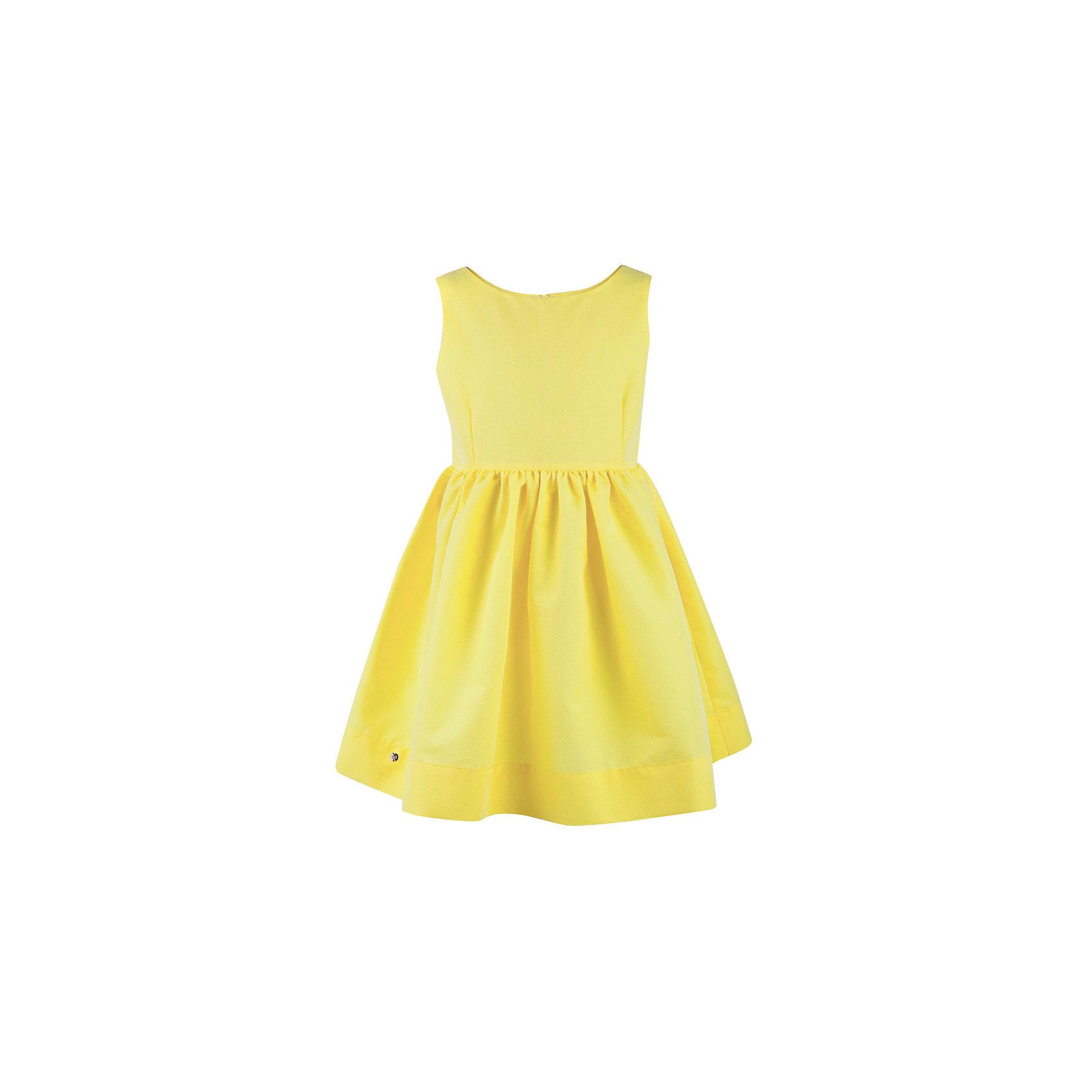 Платье для девочки  BUTTON BLUEПлатья и сарафаны<br>Платье для девочки  BUTTON BLUE<br>Прекрасный летний вариант - яркое текстильное платье на тонкой хлопковой подкладке. Модный силуэт, комфортная форма делают платье для девочки отличным решением для каждого дня лета. Если вы хотите приобрести одновременно и красивую, и практичную, и удобную вещь, вам стоит купить детское платье от Button Blue. Низкая цена не окажет влияния на бюджет семьи, позволив создать интересный базовый гардероб для долгожданных каникул!<br>Состав:<br>Ткань  верха: 55%хлопок 45%polyester подклад: 100% хлопок<br><br>Ширина мм: 236<br>Глубина мм: 16<br>Высота мм: 184<br>Вес г: 177<br>Цвет: желтый<br>Возраст от месяцев: 132<br>Возраст до месяцев: 144<br>Пол: Женский<br>Возраст: Детский<br>Размер: 146,140,134,128,116,110,104,98,122,152,158<br>SKU: 5523331