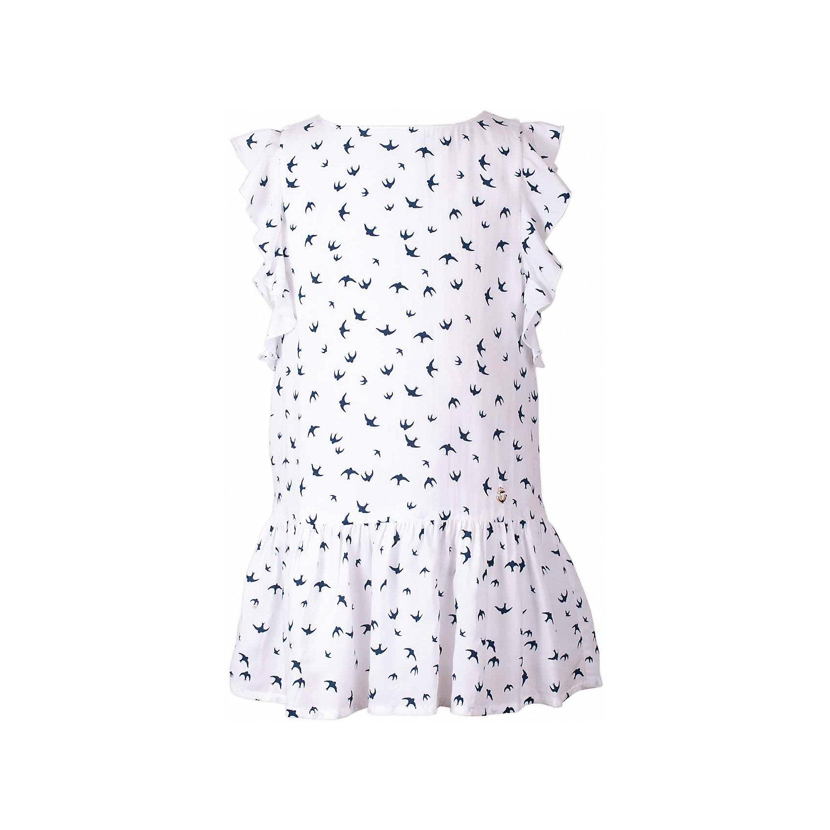 Платье для девочки  BUTTON BLUEПлатья и сарафаны<br>Платье для девочки  BUTTON BLUE<br>Прекрасный летний вариант -  текстильное платье с рисунком на тонкой хлопковой подкладке. Модный силуэт, комфортная форма, выразительные детали делают платье для девочки отличным решением для каждого дня лета. Если вы хотите приобрести одновременно и красивую, и практичную, и удобную вещь, вам стоит купить детское платье от Button Blue. Низкая цена не окажет влияния на бюджет семьи, позволив создать интересный базовый гардероб для долгожданных каникул!<br>Состав:<br>Ткань  верха: 100%  вискоза подклад: 100% хлопок<br><br>Ширина мм: 236<br>Глубина мм: 16<br>Высота мм: 184<br>Вес г: 177<br>Цвет: разноцветный<br>Возраст от месяцев: 144<br>Возраст до месяцев: 156<br>Пол: Женский<br>Возраст: Детский<br>Размер: 158,98,104,110,116,122,128,134,140<br>SKU: 5523343