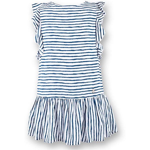 Платье для девочки  BUTTON BLUEПлатья и сарафаны<br>Платье для девочки  BUTTON BLUE<br>Прекрасный летний вариант -  текстильное платье в полоску на тонкой хлопковой подкладке. Модный силуэт, комфортная форма, выразительные детали делают платье для девочки отличным решением для каждого дня лета. Если вы хотите приобрести одновременно и красивую, и практичную, и удобную вещь, вам стоит купить детское платье от Button Blue. Низкая цена не окажет влияния на бюджет семьи, позволив создать интересный базовый гардероб для долгожданных каникул!<br>Состав:<br>Ткань  верха: 100%  вискоза подклад: 100% хлопок<br><br>Ширина мм: 236<br>Глубина мм: 16<br>Высота мм: 184<br>Вес г: 177<br>Цвет: синий<br>Возраст от месяцев: 96<br>Возраст до месяцев: 108<br>Пол: Женский<br>Возраст: Детский<br>Размер: 134,116,140,152,158,98,104,110,122,128<br>SKU: 5523353