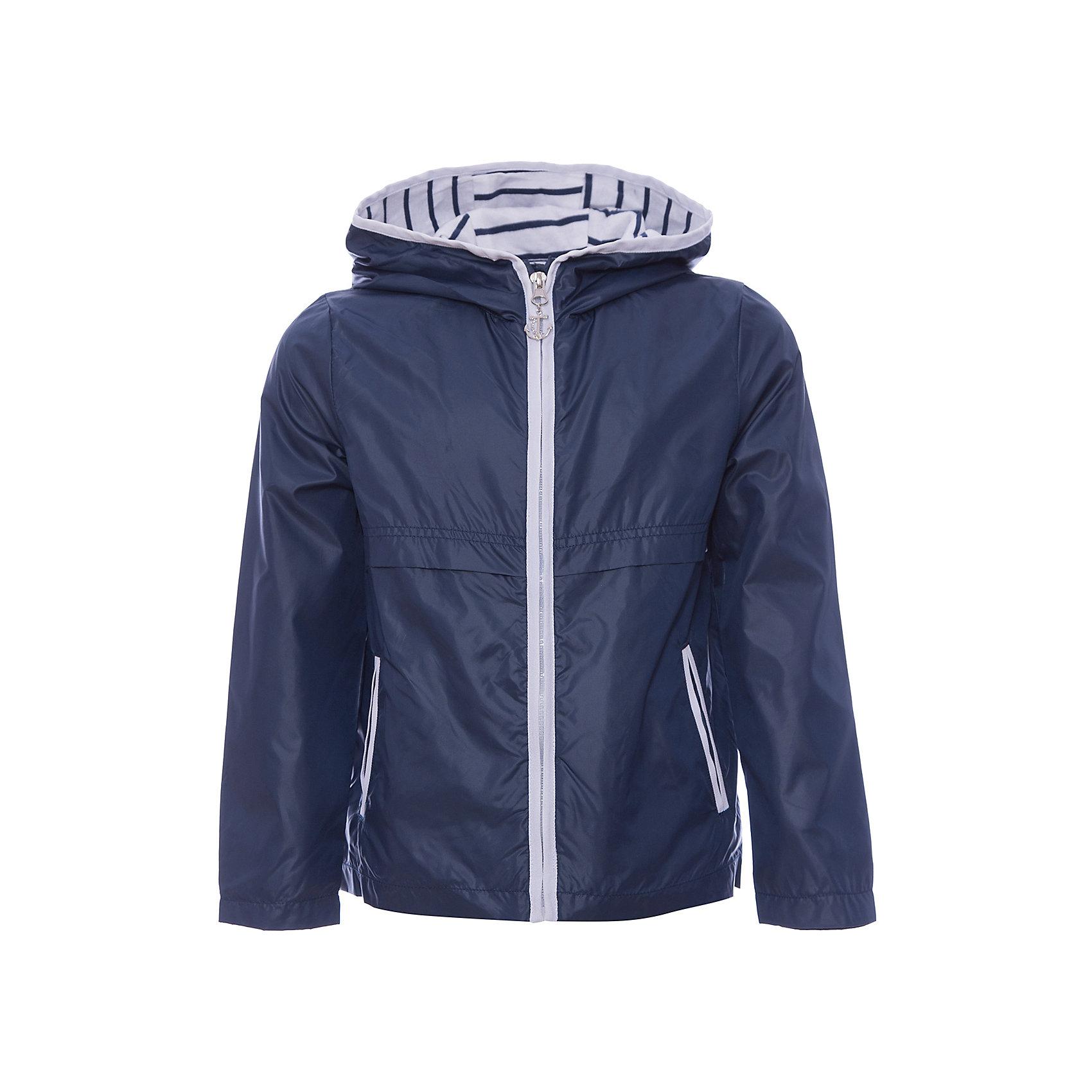 Куртка для мальчика  BUTTON BLUEВерхняя одежда<br>Куртка для мальчика BUTTON BLUE<br>Синяя ветровка с капюшоном - прекрасное решение для летней прохлады. Модная комфортная форма, продуманные детали подарят отличное настроение, мягкая трикотажная подкладка обеспечит уют, капюшон защитит от дождя и ветра. Если вы решили купить ветровку для девочки недорого, но хотите быть уверены в ее комфорте, качестве, высоких потребительских свойствах, ветровка Button Blue - то, что нужно!<br>Состав:<br>Ткань  верха: 100%  полиэстер, подклад: 100% хлопок/ 100% полиэстер<br><br>Ширина мм: 356<br>Глубина мм: 10<br>Высота мм: 245<br>Вес г: 519<br>Цвет: синий<br>Возраст от месяцев: 24<br>Возраст до месяцев: 36<br>Пол: Мужской<br>Возраст: Детский<br>Размер: 98,158,152,146,140,134,128,122,116,110,104<br>SKU: 5523376