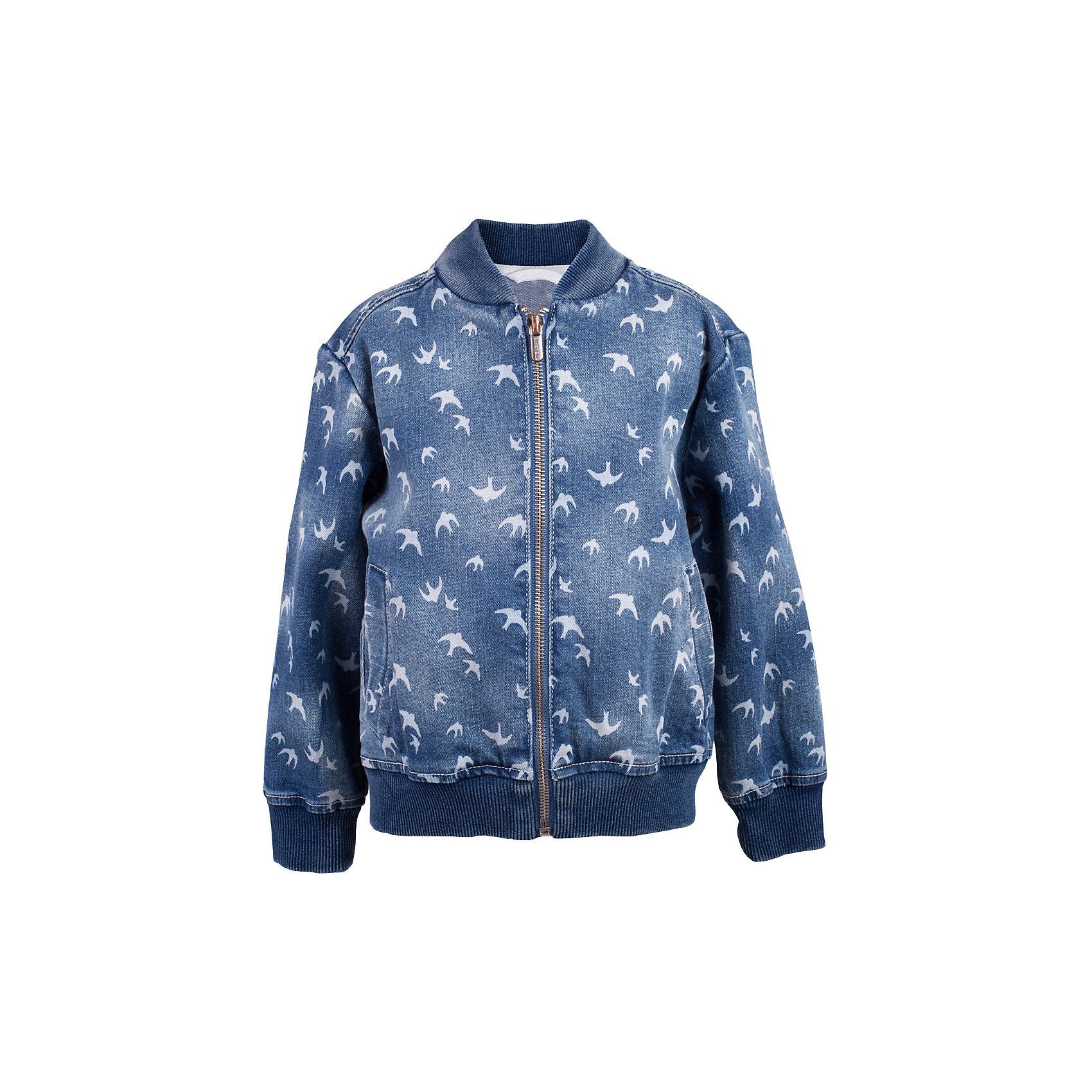 Куртка джинсовая для девочки  BUTTON BLUEВерхняя одежда<br>Куртка джинсовая для девочки  BUTTON BLUE<br>Джинсовая куртка-бомбер для девочки - хит сезона! Прекрасная базовая вещь весеннего-летнего гардероба, джинсовая куртка с рисунком отлично сочетается с платьем, сарафаном, брюками, делая комплект интересным и завершенным. Если вы хотите, чтобы ваш ребенок был в тренде, вам нужно купить джинсовую куртку от Button Blue! Прекрасный внешний вид, высокие потребительские свойства не вызовут сомнений в ее качестве и комфорте. Низкая цена не окажет влияния на бюджет семьи, позволив создать модный гардероб для долгожданных каникул!<br>Состав:<br>99% хлопок 1%эластан<br><br>Ширина мм: 356<br>Глубина мм: 10<br>Высота мм: 245<br>Вес г: 519<br>Цвет: голубой<br>Возраст от месяцев: 144<br>Возраст до месяцев: 156<br>Пол: Женский<br>Возраст: Детский<br>Размер: 158,98,104,110,116,122,128,134<br>SKU: 5523424