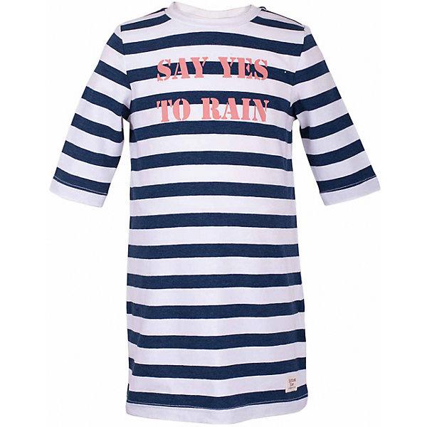 Платье для девочки  BUTTON BLUEПлатья и сарафаны<br>Платье для девочки  BUTTON BLUE<br>Хит прогулочного летнего гардероба, полосатое трикотажное платье, выглядит отлично! Модная трапециевидная форма, динамичный рисунок, рукав 3/4, симпатичный шрифтовой принт делают платье идеальным решением на каждый день. Купить детское трикотажное платье от Button Blue, значит, позаботиться о комфорте и прекрасном внешнем виде своего ребенка.<br>Состав:<br>95% хлопок 5% эластан<br><br>Ширина мм: 236<br>Глубина мм: 16<br>Высота мм: 184<br>Вес г: 177<br>Цвет: синий<br>Возраст от месяцев: 48<br>Возраст до месяцев: 60<br>Пол: Женский<br>Возраст: Детский<br>Размер: 110,104,116<br>SKU: 5523445