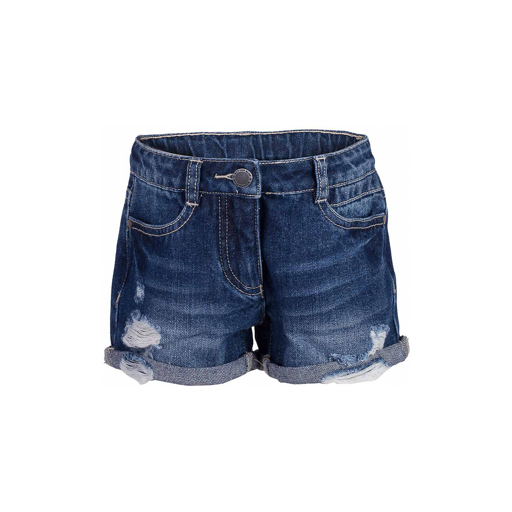 Шорты джинсовые для девочки  BUTTON BLUEШорты, бриджи, капри<br>Шорты для девочки  BUTTON BLUE<br>Джинсовые шорты - залог стильного образа для каждого дня жаркого лета. Отличные шорты по доступной цене гарантируют достойный внешний вид, комфорт и свободу движений. В компании с любой майкой, футболкой, топом, шорты составят прекрасный летний комплект. Если вы хотите купить недорогие детские джинсовые шорты, не сомневаясь в их качестве, высоких потребительских свойствах и соответствии модным трендам, шорты от Button Blue - отличный вариант!<br>Состав:<br>100%  хлопок<br><br>Ширина мм: 191<br>Глубина мм: 10<br>Высота мм: 175<br>Вес г: 273<br>Цвет: синий<br>Возраст от месяцев: 48<br>Возраст до месяцев: 60<br>Пол: Женский<br>Возраст: Детский<br>Размер: 110,116,122,128,134,140,146,152,158,98,104<br>SKU: 5523616