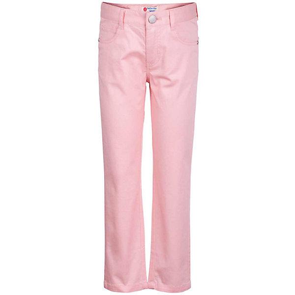 Брюки для девочки  BUTTON BLUEБрюки<br>Брюки для девочки  BUTTON BLUE<br>Яркие брюки - залог стильного образа для каждого дня лета. Отличные брюки по доступной цене гарантируют прекрасный внешний вид, комфорт и свободу движений. В компании с любой майкой, футболкой, джемпером брюки составят достойный летний комплект. Если вы хотите купить недорогие детские брюки, не сомневаясь в их качестве, высоких потребительских свойствах и соответствии модным трендам, брюки от Button Blue - отличный вариант!<br>Состав:<br>97% хлопок 3% эластан<br>Ширина мм: 215; Глубина мм: 88; Высота мм: 191; Вес г: 336; Цвет: розовый; Возраст от месяцев: 48; Возраст до месяцев: 60; Пол: Женский; Возраст: Детский; Размер: 110,104,98,158,152,146,140,134,128,122,116; SKU: 5523646;
