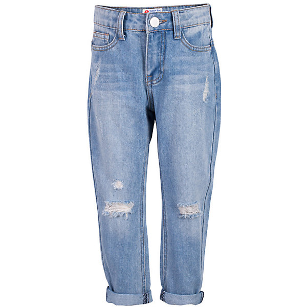 Джинсы для девочки  BUTTON BLUEДжинсовая одежда<br>Джинсы для девочки  BUTTON BLUE<br>Классные голубые джинсы с потертостями и повреждениями — гарантия модного современного образа! Хороший крой,  удобная посадка на фигуре подарят девочке комфорт и свободу движений. Если вы хотите купить ребенку недорогие джинсы силуэта бойфренд, модель от Button Blue - прекрасный выбор!<br>Состав:<br>100%  хлопок<br>Ширина мм: 215; Глубина мм: 88; Высота мм: 191; Вес г: 336; Цвет: голубой; Возраст от месяцев: 24; Возраст до месяцев: 36; Пол: Женский; Возраст: Детский; Размер: 98,158,104,122,128,134,140,146,152; SKU: 5523678;