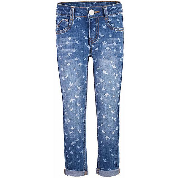 Джинсы для девочки  BUTTON BLUEДжинсовая одежда<br>Джинсы для девочки  BUTTON BLUE<br>Классные голубые джинсы с рисунком — гарантия модного современного образа! Хороший крой,  удобная посадка на фигуре подарят девочке комфорт и свободу движений. Если вы хотите купить ребенку недорогие джинсы облегающего силуэта, модель от Button Blue - прекрасный выбор!<br>Состав:<br>99% хлопок 1%эластан<br><br>Ширина мм: 215<br>Глубина мм: 88<br>Высота мм: 191<br>Вес г: 336<br>Цвет: голубой<br>Возраст от месяцев: 24<br>Возраст до месяцев: 36<br>Пол: Женский<br>Возраст: Детский<br>Размер: 98,158,152,146,140,134,128,122,116,110,104<br>SKU: 5523688