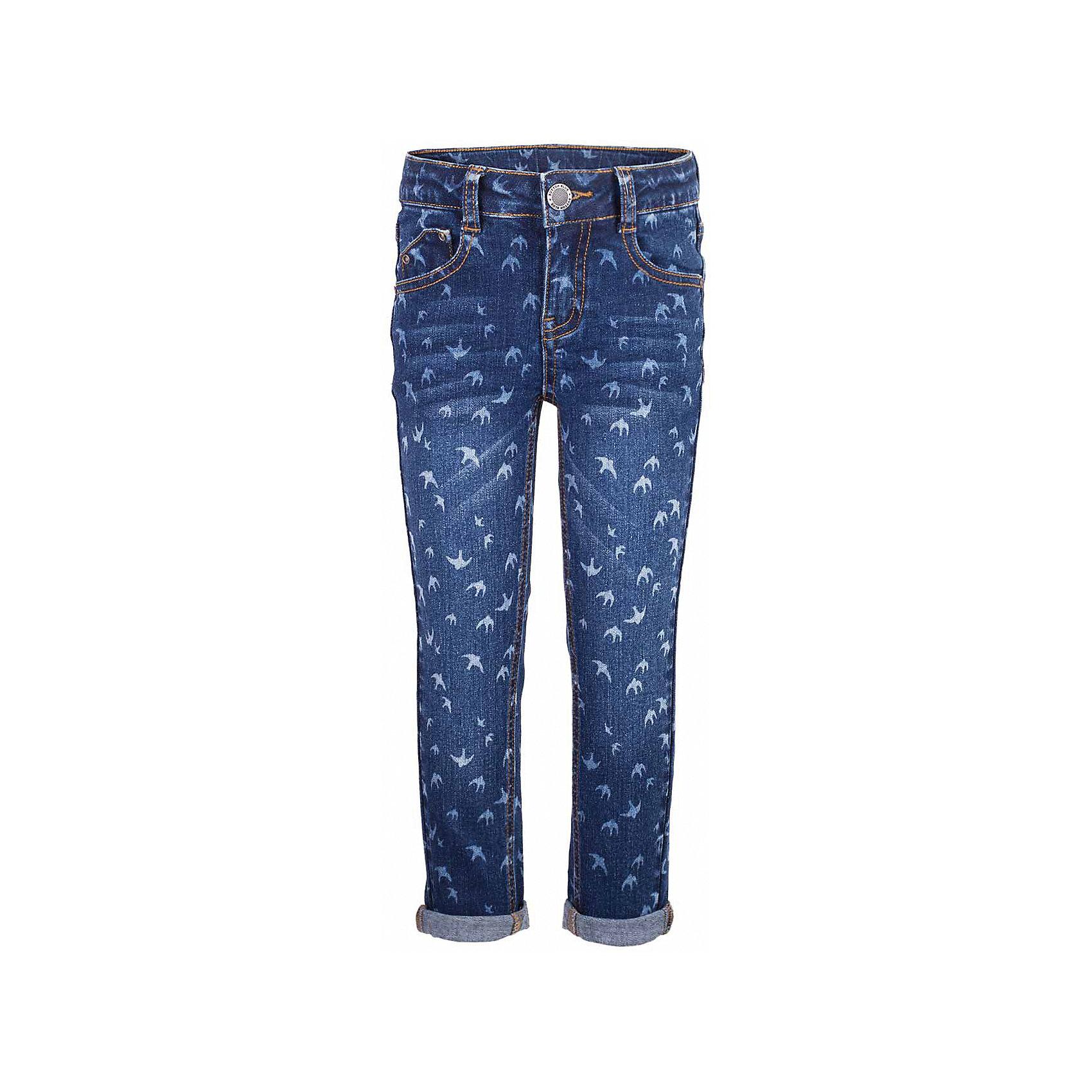 Джинсы для девочки  BUTTON BLUEДжинсовая одежда<br>Джинсы для девочки  BUTTON BLUE<br>Классные синие джинсы с рисунком — гарантия модного современного образа! Хороший крой,  удобная посадка на фигуре подарят девочке комфорт и свободу движений. Если вы хотите купить ребенку недорогие джинсы облегающего силуэта, модель от Button Blue - прекрасный выбор!<br>Состав:<br>99% хлопок 1%эластан<br><br>Ширина мм: 215<br>Глубина мм: 88<br>Высота мм: 191<br>Вес г: 336<br>Цвет: синий<br>Возраст от месяцев: 144<br>Возраст до месяцев: 156<br>Пол: Женский<br>Возраст: Детский<br>Размер: 158,98,104,110,116,122,128,134,140,146,152<br>SKU: 5523700