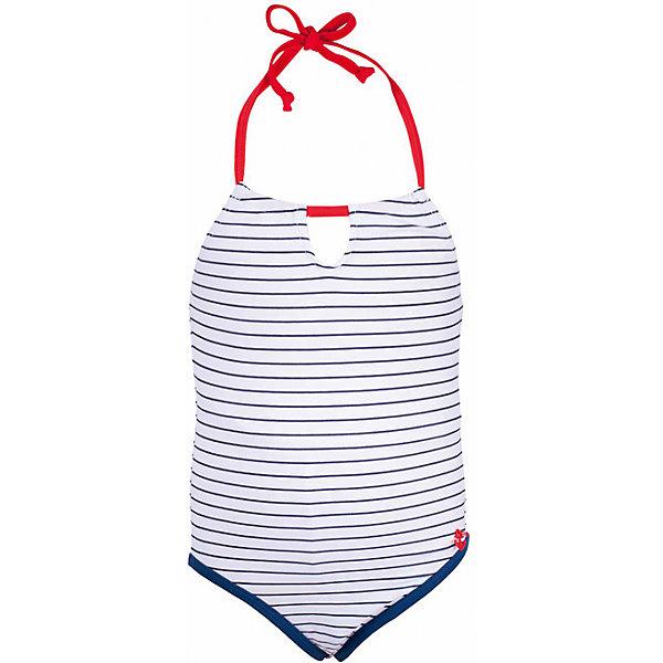 Купальник для девочки  BUTTON BLUEКупальники и плавки<br>Купальник для девочки  BUTTON BLUE<br>Яркий купальник в полоску - лучший вариант для отдыха у воды. Купить красивый слитный купальник, значит, подарить девочке отличное настроение на весь пляжный сезон.<br>Состав:<br>83% полиамид 17% эластан; подклад: 100%  полиэстер<br>Ширина мм: 183; Глубина мм: 60; Высота мм: 135; Вес г: 119; Цвет: белый; Возраст от месяцев: 132; Возраст до месяцев: 144; Пол: Женский; Возраст: Детский; Размер: 152,98,140,128,116,104; SKU: 5523724;