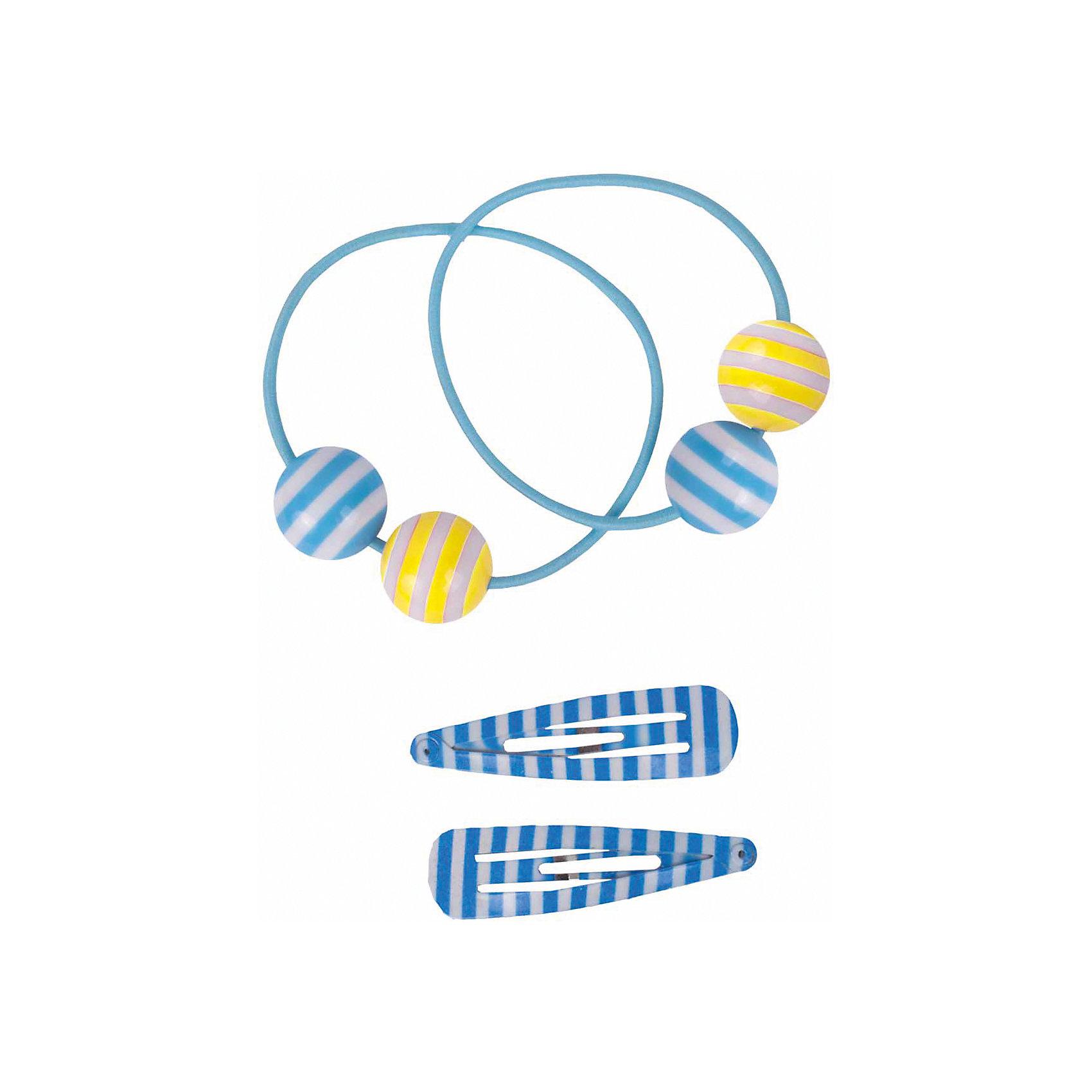 Набор резинок и заколок 4шт для девочки  BUTTON BLUEАксессуары<br>Набор резинок и заколок 4шт для девочки  BUTTON BLUE<br>Набор оригинальных аксессуаров для волос  - лучший помощник в создании красивой прически.<br>Состав:<br>полиэстер, эластан, пластик, металл<br><br>Ширина мм: 170<br>Глубина мм: 157<br>Высота мм: 67<br>Вес г: 117<br>Цвет: голубой<br>Возраст от месяцев: 0<br>Возраст до месяцев: 168<br>Пол: Женский<br>Возраст: Детский<br>Размер: one size<br>SKU: 5523822