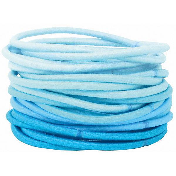 Набор резинок 30 шт для девочки  BUTTON BLUE