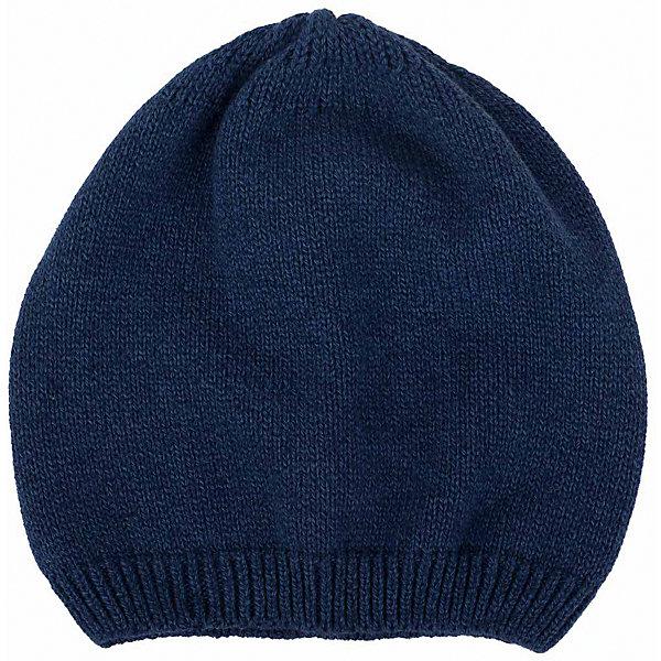 Шапка  BUTTON BLUEГоловные уборы<br>Шапка  BUTTON BLUE<br>Вязаные шапки - важный атрибут повседневного гардероба! Они отлично согревают, а также украшают и завершают весенний комплект. У них один недостаток: они часто теряются. Шапки забывают в парке, в школе, в детском саду, поэтому их в гардеробе должно быть много, а значит, шапки надо покупать по доступной цене. Купить недорого шапку для девочки от Button Blue, значит, позаботиться о здоровье, красоте и комфорте ребенка.<br>Состав:<br>100%  хлопок<br><br>Ширина мм: 89<br>Глубина мм: 117<br>Высота мм: 44<br>Вес г: 155<br>Цвет: синий<br>Возраст от месяцев: 24<br>Возраст до месяцев: 36<br>Пол: Унисекс<br>Возраст: Детский<br>Размер: 50,56,54,52<br>SKU: 5523958