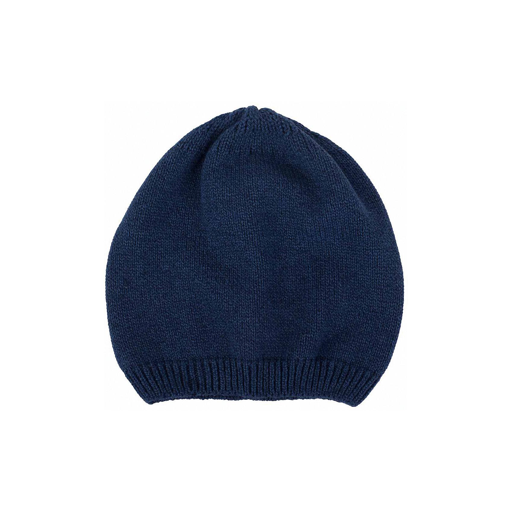 Шапка  BUTTON BLUEГоловные уборы<br>Шапка  BUTTON BLUE<br>Вязаные шапки - важный атрибут повседневного гардероба! Они отлично согревают, а также украшают и завершают весенний комплект. У них один недостаток: они часто теряются. Шапки забывают в парке, в школе, в детском саду, поэтому их в гардеробе должно быть много, а значит, шапки надо покупать по доступной цене. Купить недорого шапку для девочки от Button Blue, значит, позаботиться о здоровье, красоте и комфорте ребенка.<br>Состав:<br>100%  хлопок<br><br>Ширина мм: 89<br>Глубина мм: 117<br>Высота мм: 44<br>Вес г: 155<br>Цвет: синий<br>Возраст от месяцев: 96<br>Возраст до месяцев: 108<br>Пол: Унисекс<br>Возраст: Детский<br>Размер: 56,50,52,54<br>SKU: 5523958