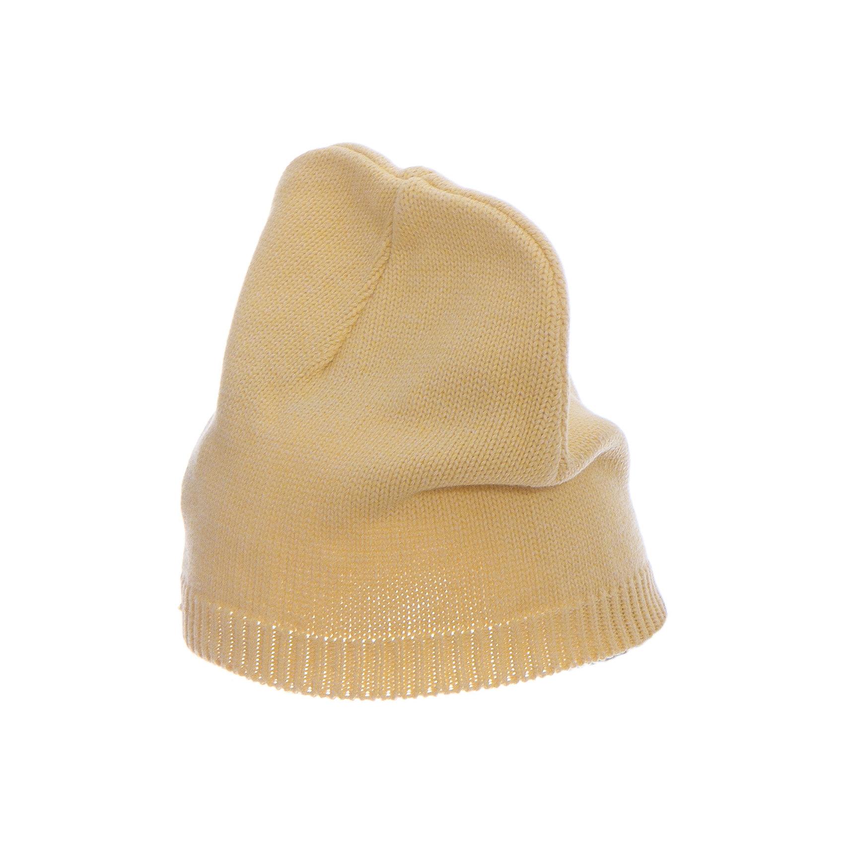 Шапка  BUTTON BLUEГоловные уборы<br>Шапка  BUTTON BLUE<br>Вязаные шапки - важный атрибут повседневного гардероба! Они отлично согревают, а также украшают и завершают весенний комплект. У них один недостаток: они часто теряются. Шапки забывают в парке, в школе, в детском саду, поэтому их в гардеробе должно быть много, а значит, шапки надо покупать по доступной цене. Купить недорого шапку для девочки от Button Blue, значит, позаботиться о здоровье, красоте и комфорте ребенка.<br>Состав:<br>100%  хлопок<br><br>Ширина мм: 89<br>Глубина мм: 117<br>Высота мм: 44<br>Вес г: 155<br>Цвет: желтый<br>Возраст от месяцев: 24<br>Возраст до месяцев: 36<br>Пол: Унисекс<br>Возраст: Детский<br>Размер: 50,56,52,54<br>SKU: 5523963