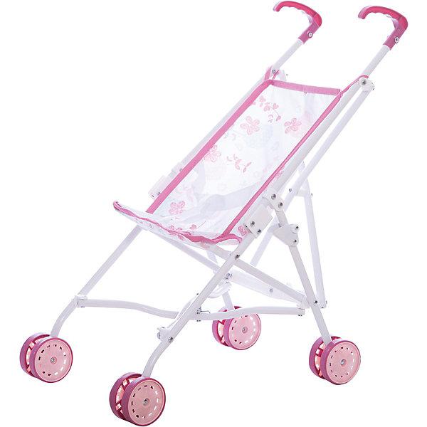 Прогулочная коляска Baby Nurse, SmobyТранспорт и коляски для кукол<br>Прогулочная коляска быстро складывается и не занимает много места. Легкая металлическая основа. Тканевые элементы снимаются и стираются. Высота ручек 45,5 см. Коляска предназначена для кукол до 42 см.<br><br>Ширина мм: 120<br>Глубина мм: 640<br>Высота мм: 100<br>Вес г: 930<br>Возраст от месяцев: 36<br>Возраст до месяцев: 84<br>Пол: Женский<br>Возраст: Детский<br>SKU: 5524071