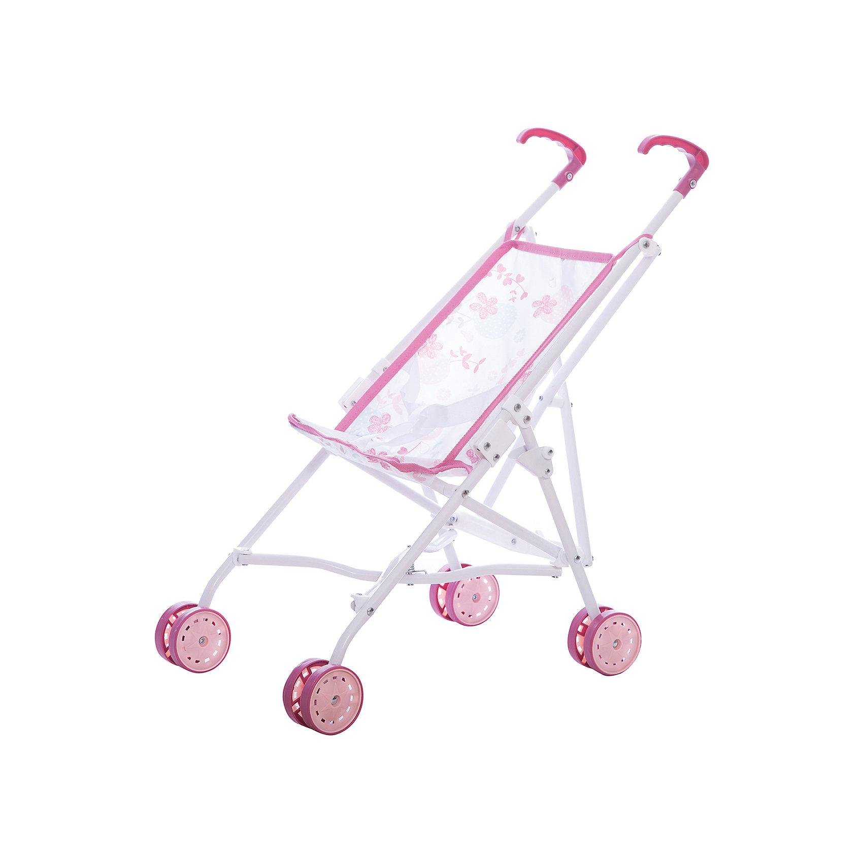 Прогулочная коляска Baby Nurse, SmobyКоляски и транспорт для кукол<br>Прогулочная коляска быстро складывается и не занимает много места. Легкая металлическая основа. Тканевые элементы снимаются и стираются. Высота ручек 45,5 см. Коляска предназначена для кукол до 42 см.<br><br>Ширина мм: 120<br>Глубина мм: 640<br>Высота мм: 100<br>Вес г: 930<br>Возраст от месяцев: 36<br>Возраст до месяцев: 84<br>Пол: Женский<br>Возраст: Детский<br>SKU: 5524071